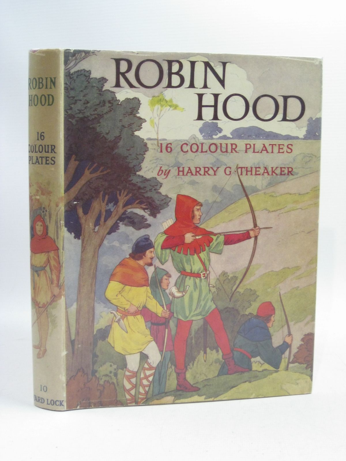 Photo of ROBIN HOOD written by Vivian, E. Charles illustrated by Theaker, Harry G. published by Ward, Lock & Co. Ltd. (STOCK CODE: 1505097)  for sale by Stella & Rose's Books