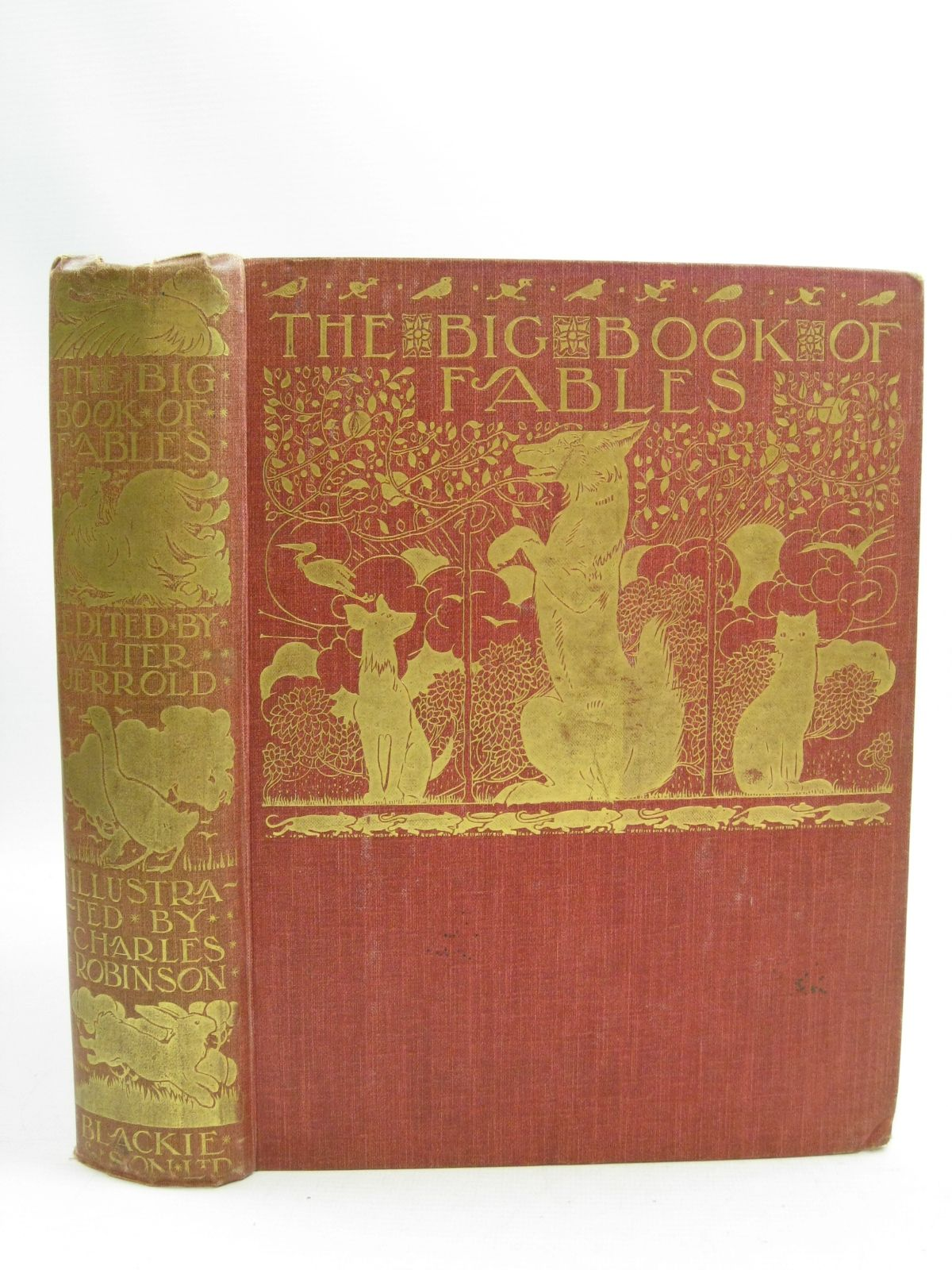 Photo of THE BIG BOOK OF FABLES- Stock Number: 1505140