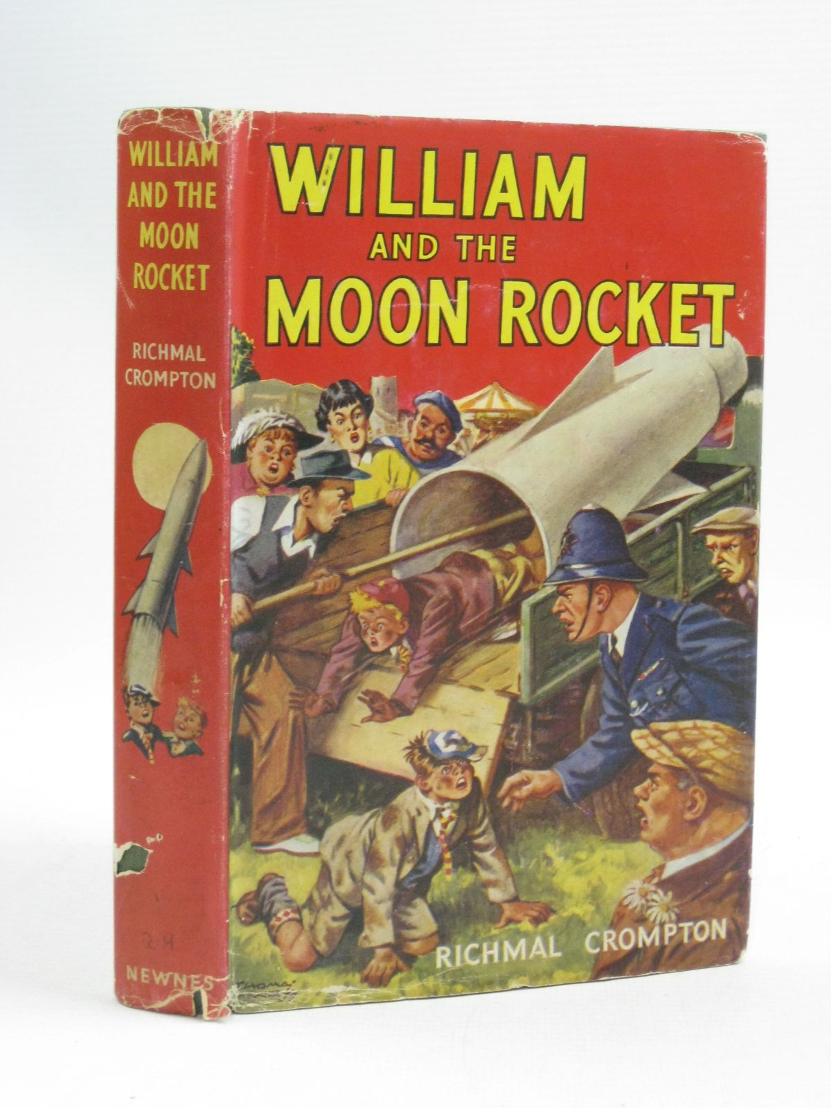 Photo of WILLIAM AND THE MOON ROCKET written by Crompton, Richmal illustrated by Henry, Thomas published by George Newnes Limited (STOCK CODE: 1505145)  for sale by Stella & Rose's Books