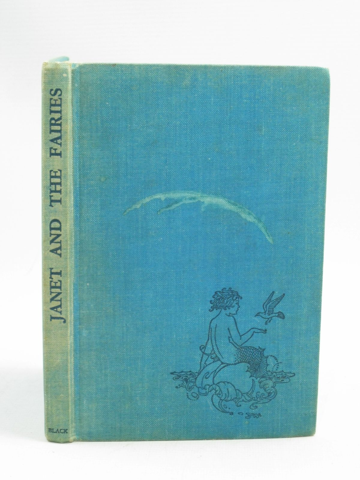 Photo of JANET AND THE FAIRIES written by Danks, Bertha M. illustrated by Outhwaite, Ida Rentoul published by A. & C. Black Ltd. (STOCK CODE: 1505178)  for sale by Stella & Rose's Books