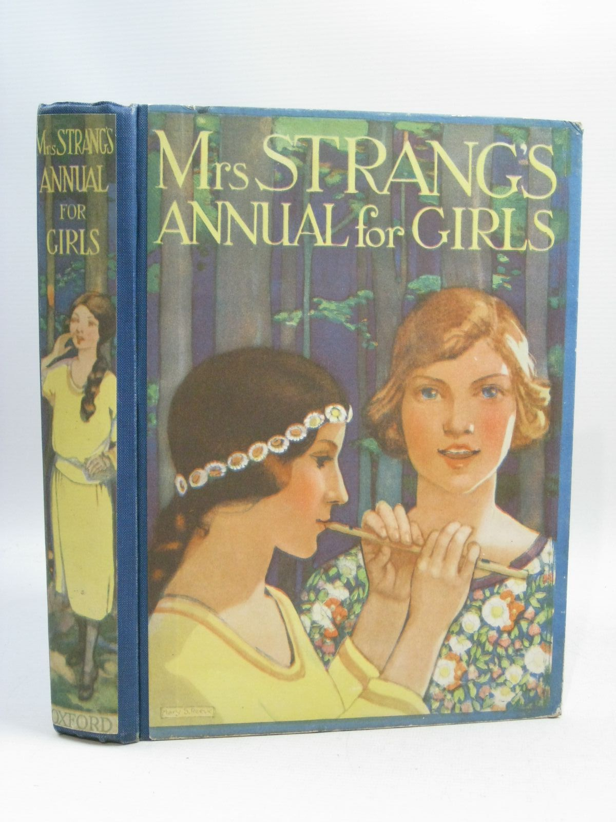Photo of MRS. STRANG'S ANNUAL FOR GIRLS written by Francklyn, Phillippa Stowell, Thora Bruce, Dorita Fairlie Darch, Winifred et al,  published by Humphrey Milford, Oxford University Press (STOCK CODE: 1505231)  for sale by Stella & Rose's Books