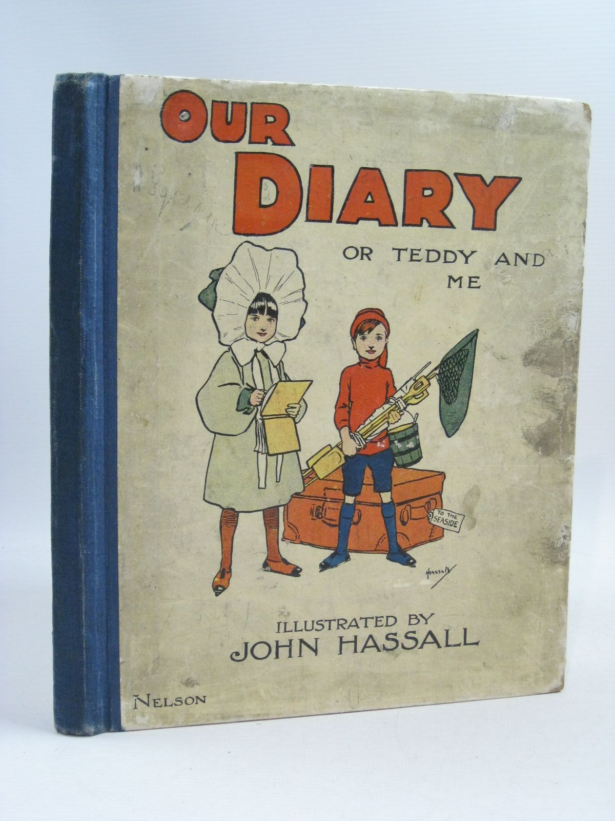 Photo of OUR DIARY OR TEDDY AND ME illustrated by Hassall, John published by Thomas Nelson and Sons Ltd. (STOCK CODE: 1505343)  for sale by Stella & Rose's Books