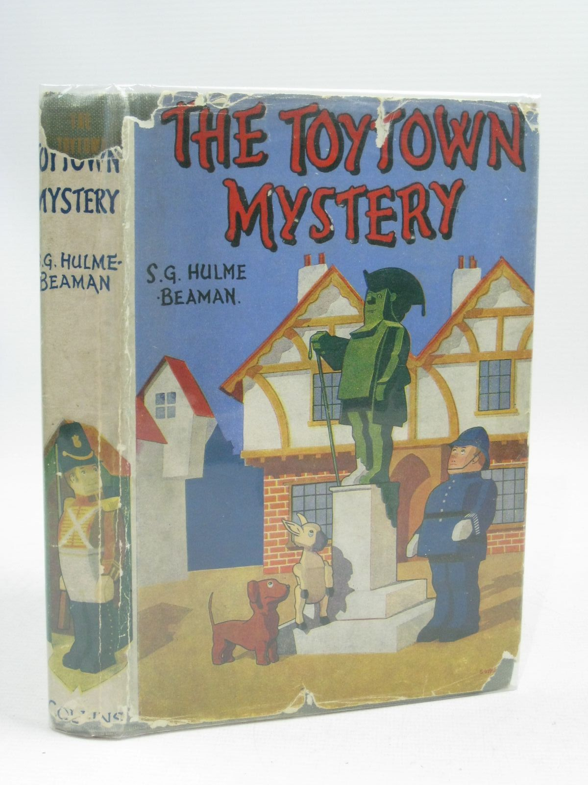 Photo of THE TOYTOWN MYSTERY written by Beaman, S.G. Hulme illustrated by Beaman, S.G. Hulme published by Collins (STOCK CODE: 1505366)  for sale by Stella & Rose's Books