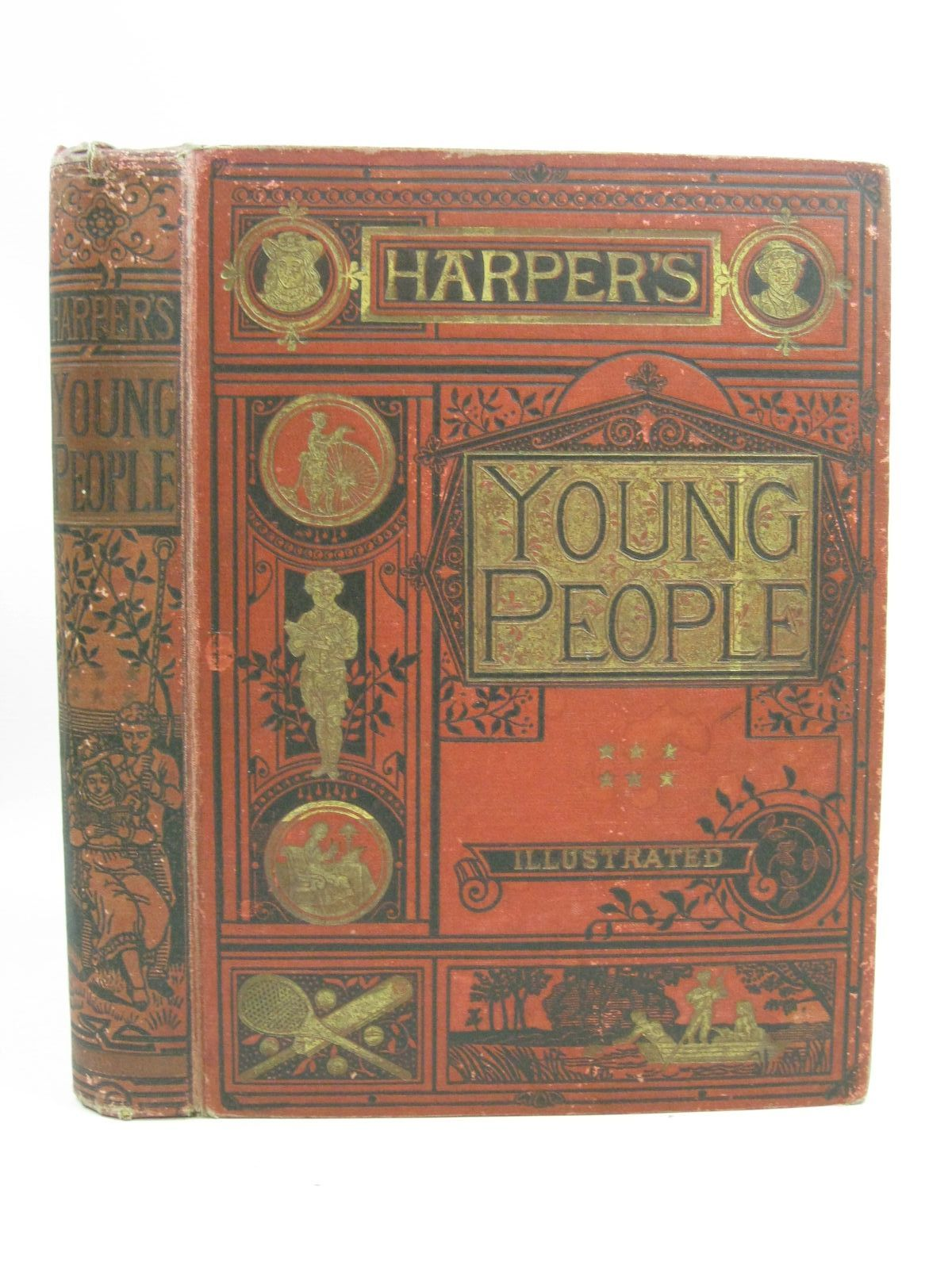 Photo of HARPER'S YOUNG PEOPLE 1890 published by Sampson Low, Marston, Searle, & Rivington (STOCK CODE: 1505383)  for sale by Stella & Rose's Books