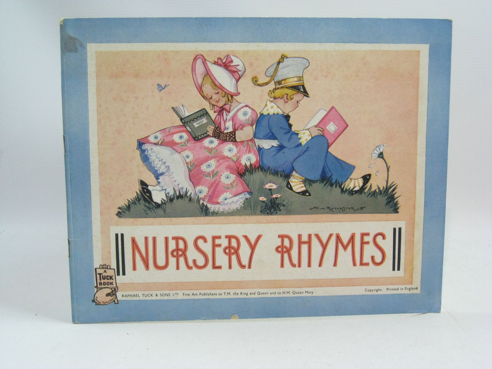 Photo of NURSERY RHYMES illustrated by Rochester, Anne published by Raphael Tuck & Sons Ltd. (STOCK CODE: 1505400)  for sale by Stella & Rose's Books