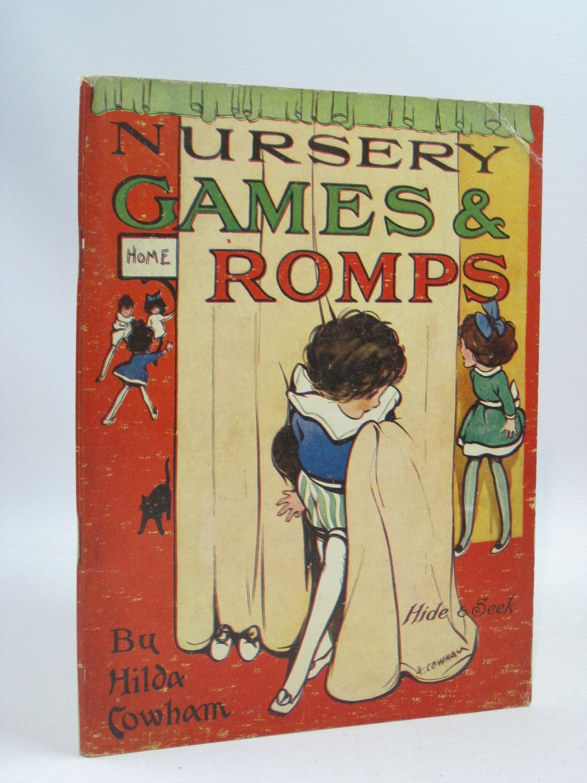 Photo of NURSERY GAMES AND ROMPS written by Cowham, Hilda illustrated by Cowham, Hilda published by Gale & Polden, Ltd. (STOCK CODE: 1505420)  for sale by Stella & Rose's Books