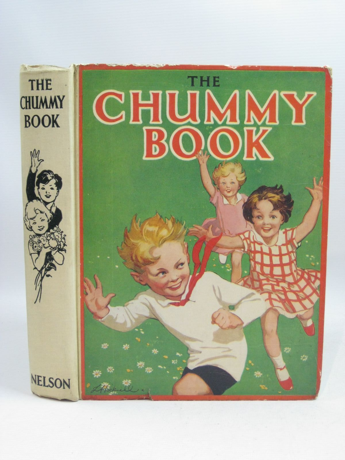Photo of THE CHUMMY BOOK - NINETEENTH YEAR written by Chisholm, Edwin<br />Herbertson, Agnes Grozier<br />Russell, Dorothy<br />Todd, Barbara<br />Heward, Constance<br />et al, illustrated by Tayler, Laurie<br />Lloyd, Stanley<br />et al., published by Thomas Nelson and Sons Ltd. (STOCK CODE: 1505438)  for sale by Stella & Rose's Books