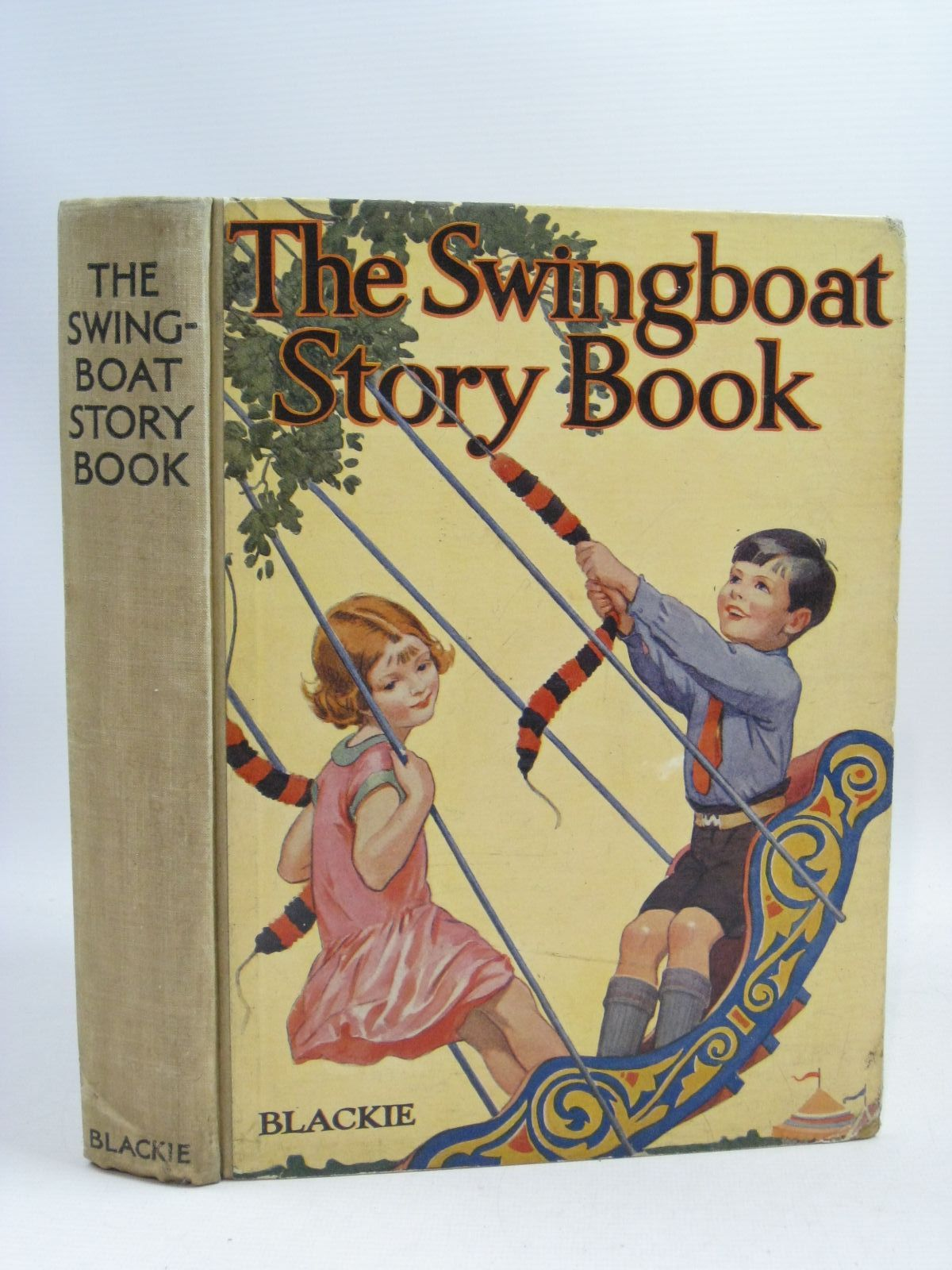 Photo of THE SWINGBOAT STORY BOOK written by Simeon, Eleanor B. Uttley, Alison Pope, Jessie et al, illustrated by Brisley, Nina K. Appleton, Honor C. Rountree, Harry Robinson, Gordon Beaman, S.G. Hulme et al., published by Blackie & Son Ltd. (STOCK CODE: 1505447)  for sale by Stella & Rose's Books
