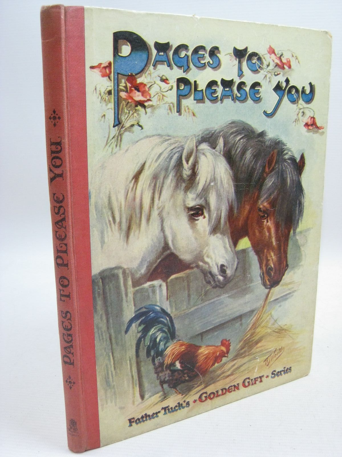 Photo of PAGES TO PLEASE YOU written by Vredenburg, Edric Scott-Hopper, Queenie Rutley, Cecily M. et al, illustrated by Cowham, Hilda Blomfield, Elsie Thompson, G.H. et al., published by Raphael Tuck & Sons Ltd. (STOCK CODE: 1505512)  for sale by Stella & Rose's Books