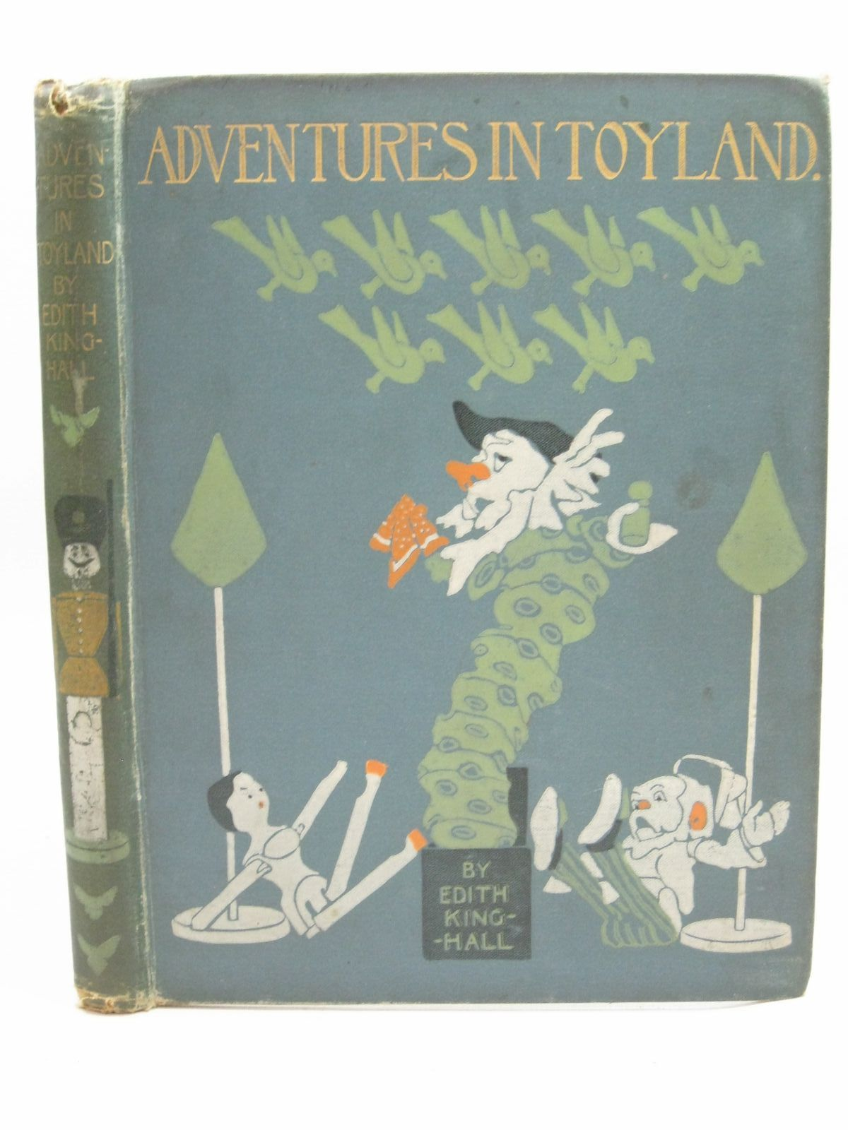 Photo of ADVENTURES IN TOYLAND written by Hall, Edith King illustrated by Woodward, Alice B. published by Blackie & Son Ltd. (STOCK CODE: 1505531)  for sale by Stella & Rose's Books