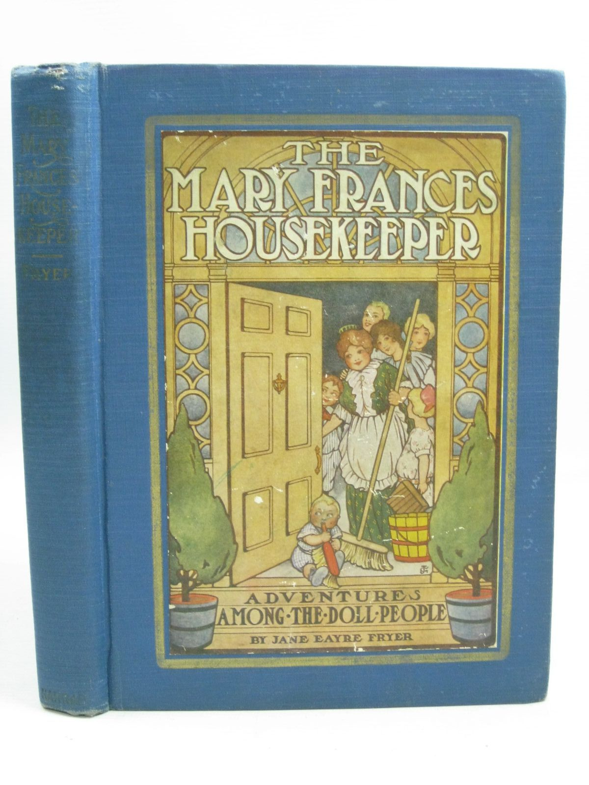 Photo of THE MARY FRANCES HOUSEKEEPER written by Fryer, Jane Eayre illustrated by Greene, Julia