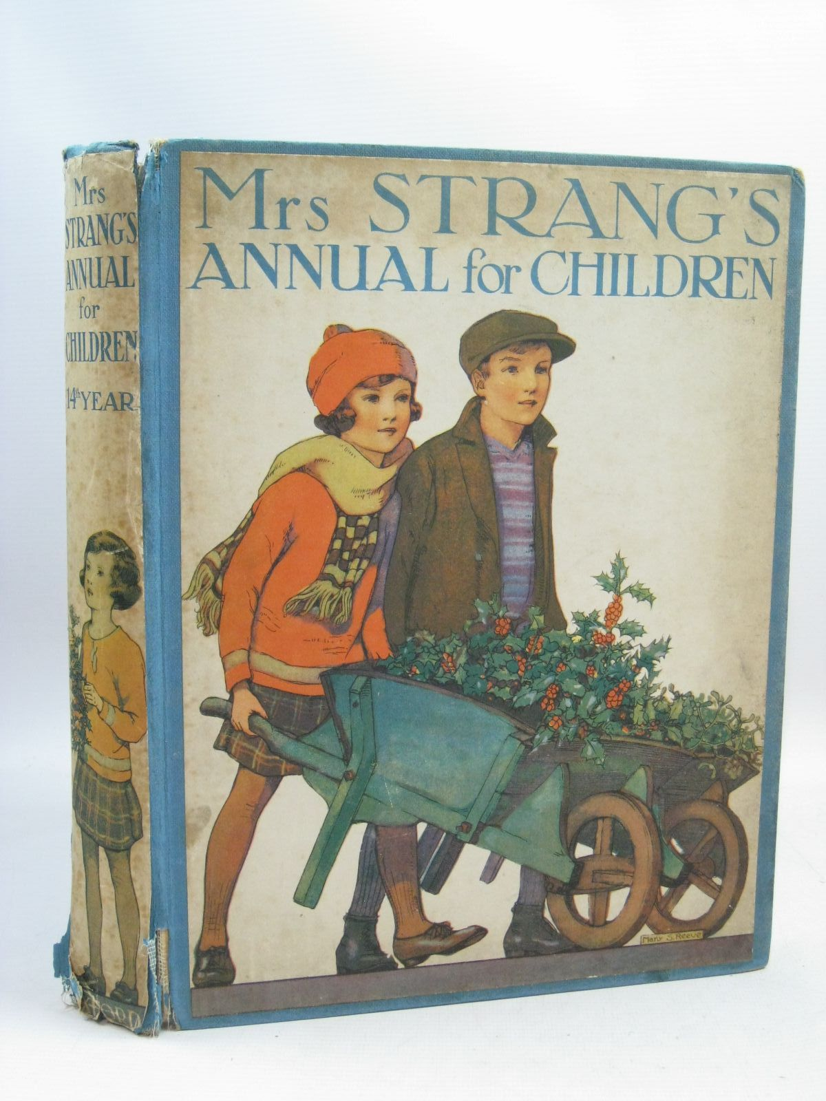 Photo of MRS STRANG'S ANNUAL FOR CHILDREN (14TH YEAR) written by Harrison, Florence Pope, Jessie Strang, Herbert Beaman, S.G. Hulme Peart, M.A. et al, illustrated by Harrison, Florence Peart, M.A. Rees, E. Dorothy Beaman, S.G. Hulme et al., published by Oxford University Press, Humphrey Milford (STOCK CODE: 1505557)  for sale by Stella & Rose's Books
