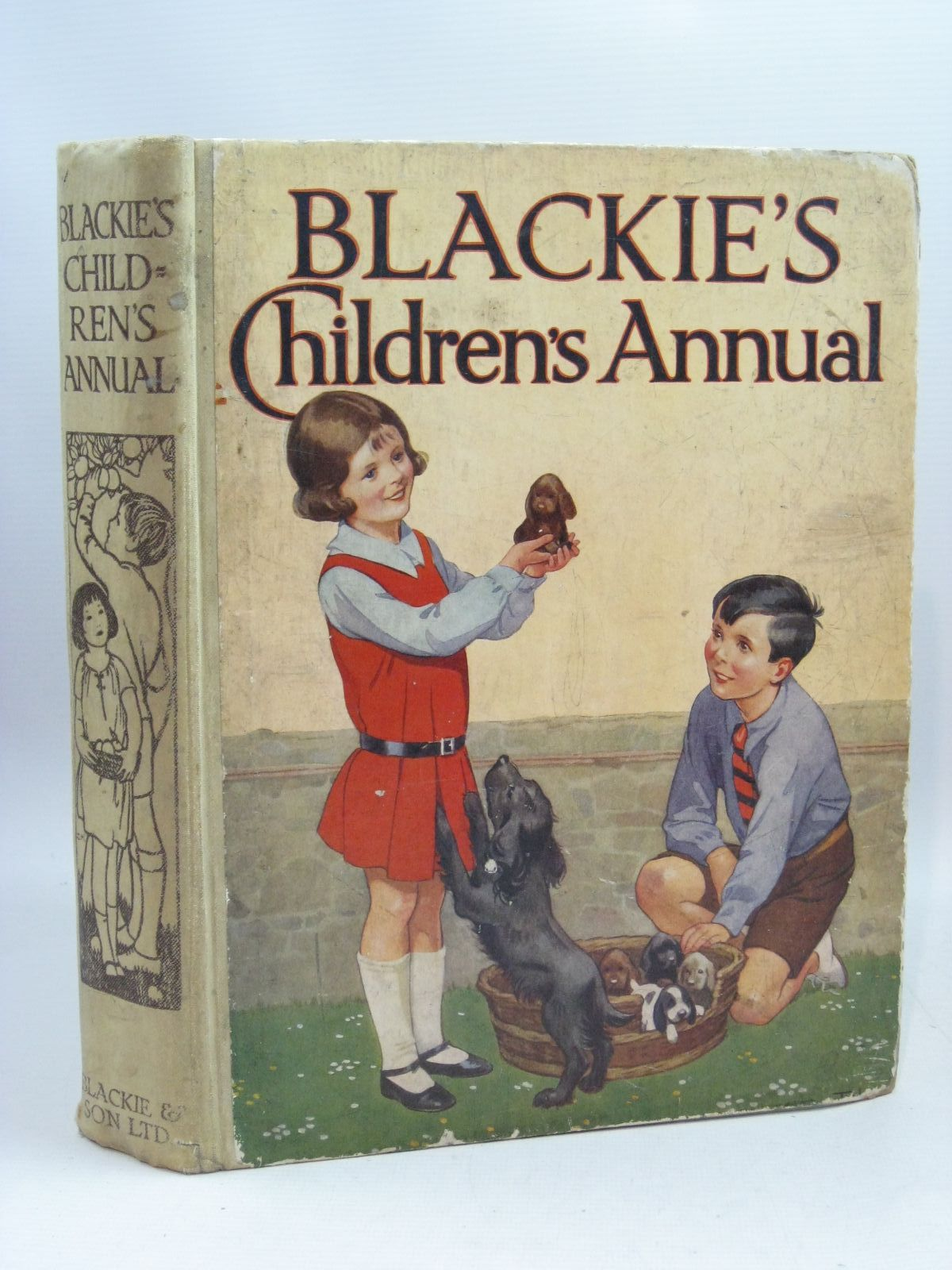 Photo of BLACKIE'S CHILDREN'S ANNUAL 28TH YEAR written by Hunter, Norman Englefield, Cicely Todd, Barbara Euphan Barker, Cicely Mary et al,  illustrated by Beaman, S.G. Hulme Brock, H.M. Rountree, Harry Barker, Cicely Mary Bull, Rene et al.,  published by Blackie & Son Ltd. (STOCK CODE: 1505561)  for sale by Stella & Rose's Books
