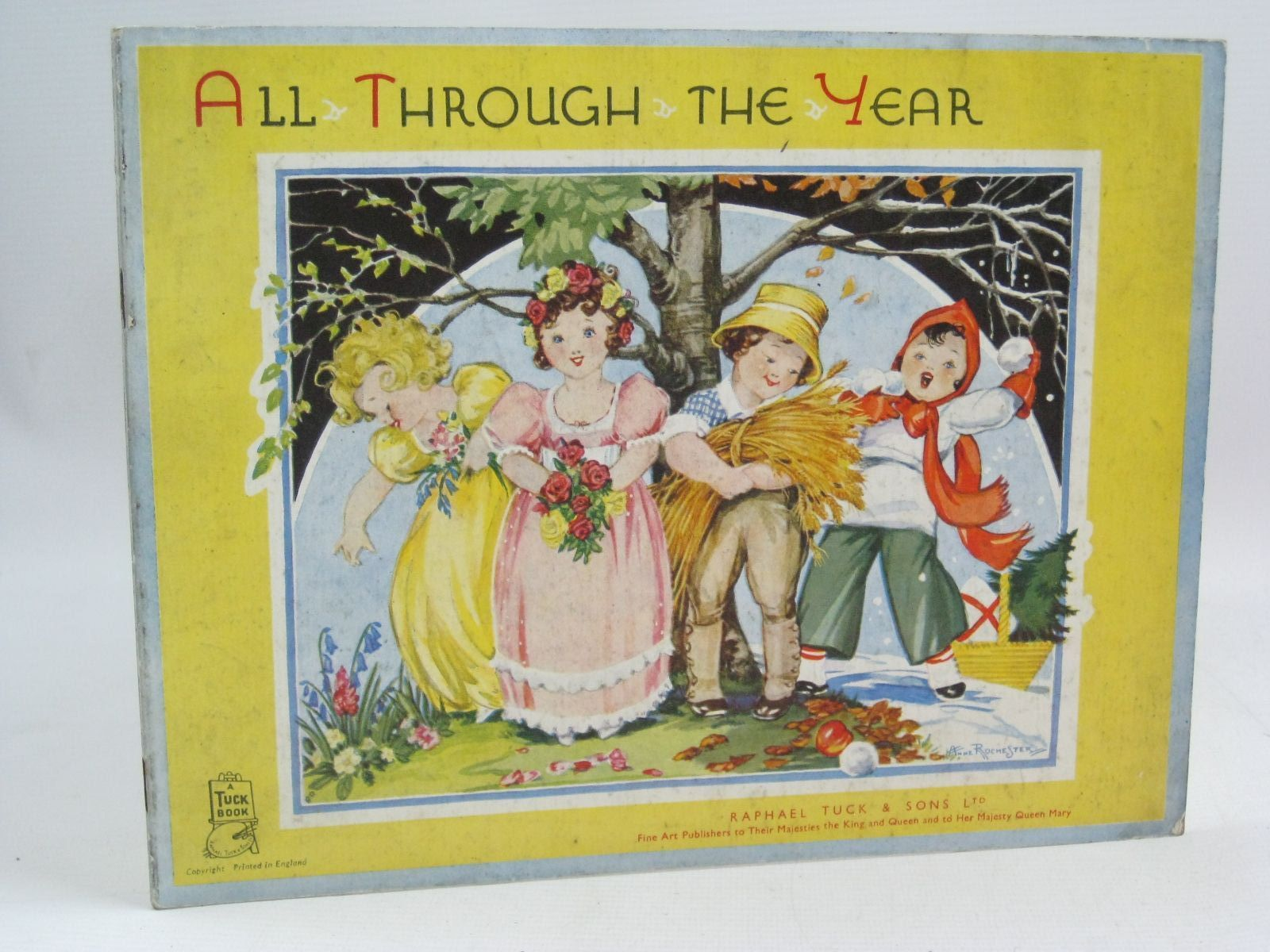 Photo of ALL THROUGH THE YEAR illustrated by Rochester, Anne published by Raphael Tuck & Sons Ltd. (STOCK CODE: 1505564)  for sale by Stella & Rose's Books