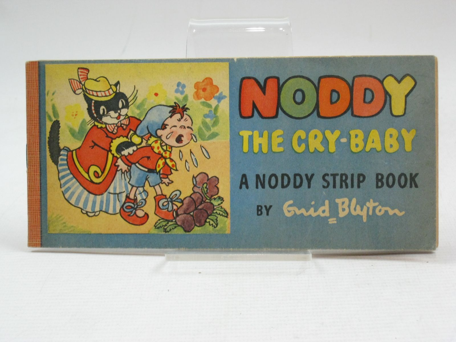 Photo of NODDY THE CRY-BABY written by Blyton, Enid illustrated by Beek,  published by Sampson Low, Marston & Co. (STOCK CODE: 1505642)  for sale by Stella & Rose's Books
