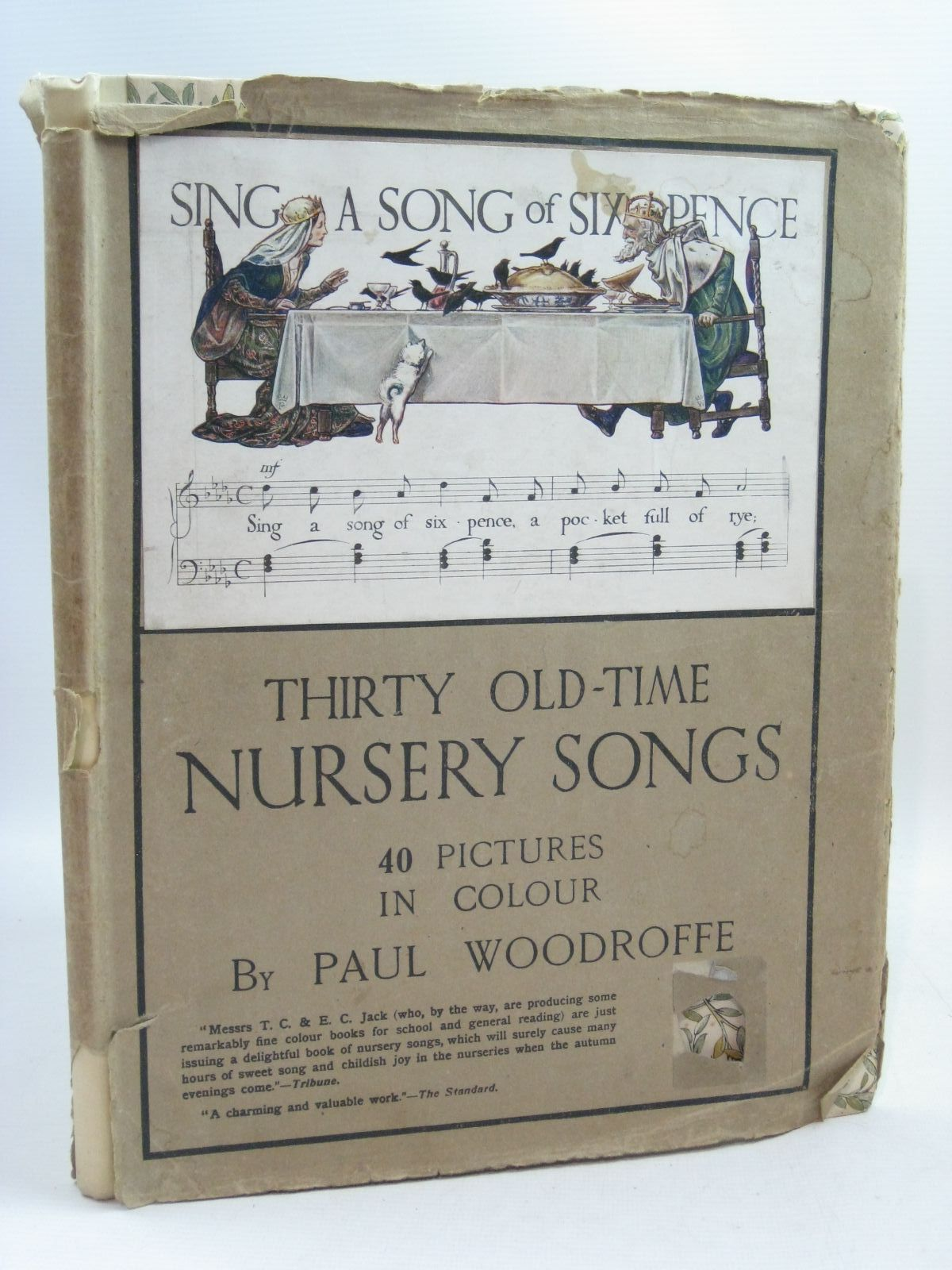 Photo of THIRTY OLD-TIME NURSERY SONGS written by Moorat, Joseph illustrated by Woodroffe, Paul published by T.C. & E.C. Jack (STOCK CODE: 1505680)  for sale by Stella & Rose's Books