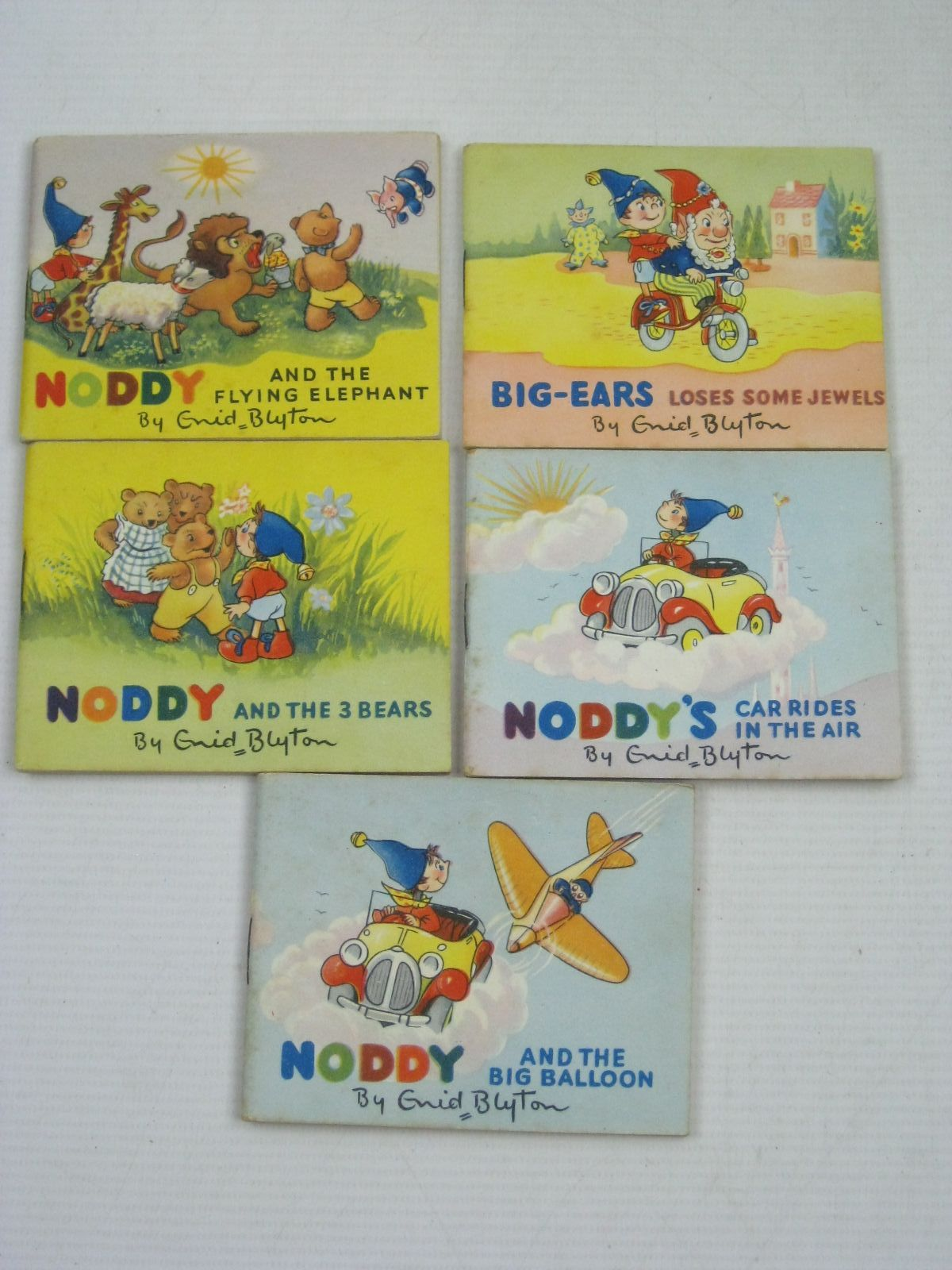 Photo of NODDY'S ARK OF BOOKS written by Blyton, Enid published by Sampson Low, Marston & Co. (STOCK CODE: 1505690)  for sale by Stella & Rose's Books