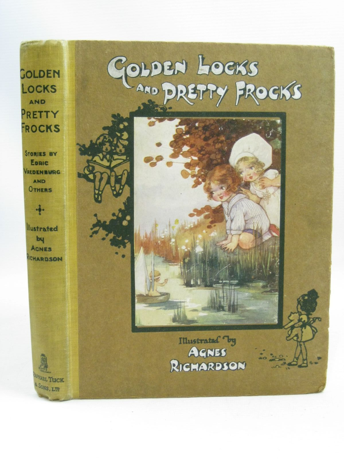 Photo of GOLDEN LOCKS AND PRETTY FROCKS written by Vredenburg, Edric<br />Hart, Hilda<br />Floyd, Grace C.<br />Belgrave, M. Dorothy illustrated by Richardson, Agnes published by Raphael Tuck &amp; Sons Ltd. (STOCK CODE: 1505699)  for sale by Stella & Rose's Books