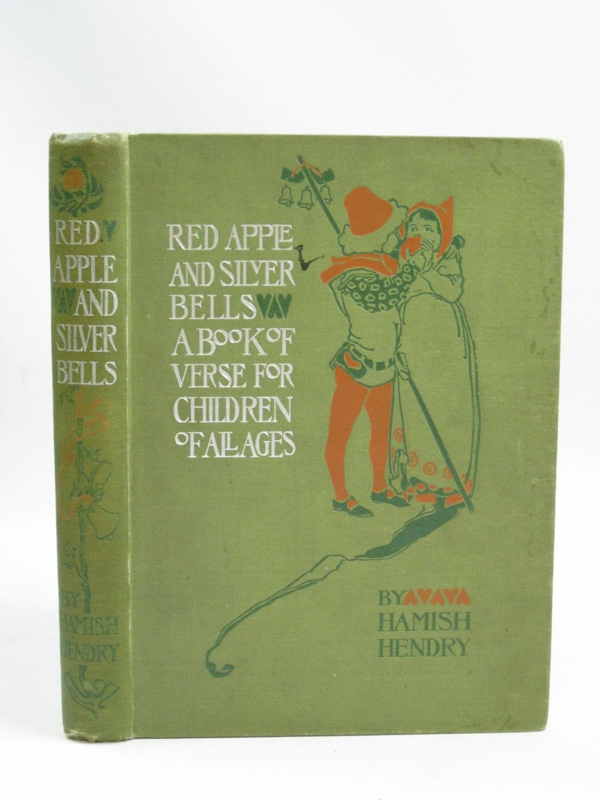 Photo of RED APPLE AND SILVER BELLS written by Hendry, Hamish illustrated by Woodward, Alice B. published by Blackie & Son Ltd. (STOCK CODE: 1505722)  for sale by Stella & Rose's Books