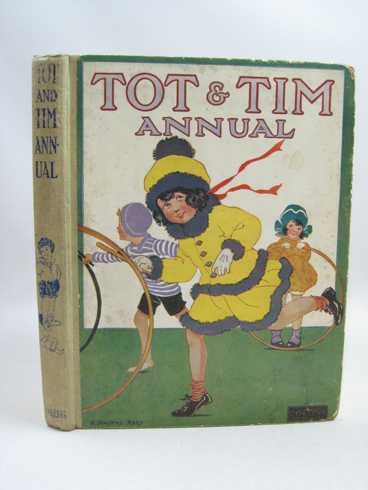 Photo of TOT AND TIM ANNUAL written by Heward, Constance<br />Rutley, Cecily M.<br />Oldmeadow, Katharine<br />et al, illustrated by Rees, E. Dorothy<br />Anderson, Anne<br />Neilson, Harry B.<br />Robinson, Charles<br />Cowham, Hilda<br />et al., published by Collins Clear-Type Press (STOCK CODE: 1505728)  for sale by Stella & Rose's Books