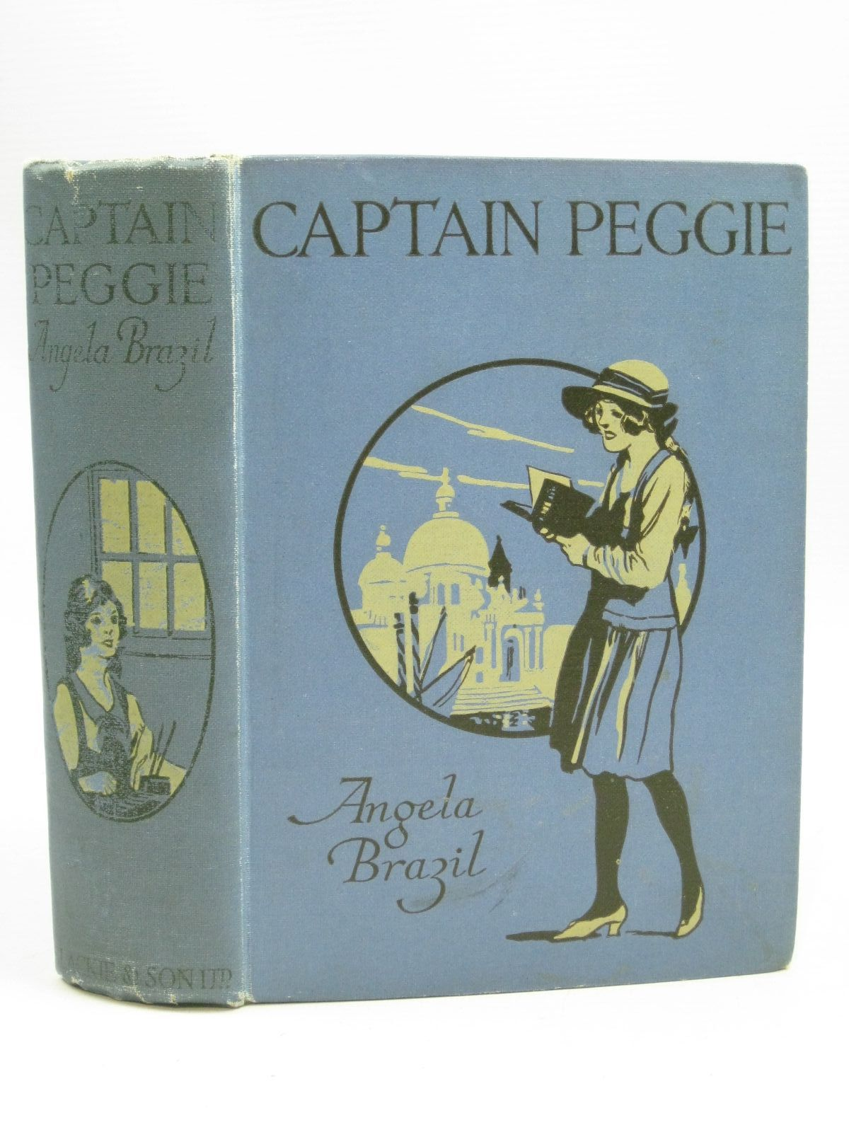 Photo of CAPTAIN PEGGIE written by Brazil, Angela illustrated by Wightman, W.E. published by Blackie & Son Ltd. (STOCK CODE: 1505740)  for sale by Stella & Rose's Books
