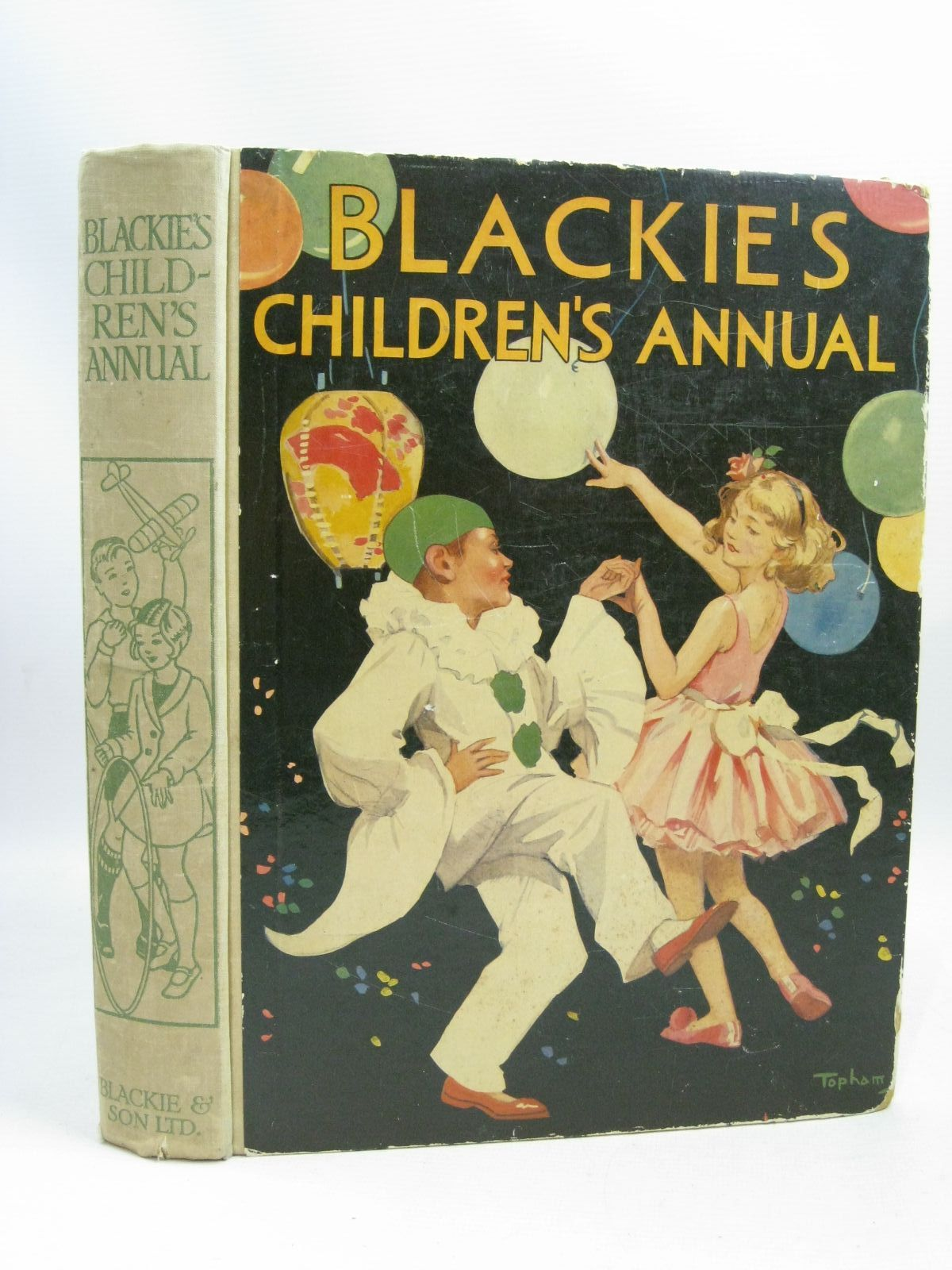 Photo of BLACKIE'S CHILDREN'S ANNUAL 34TH YEAR written by Banks, W.J.