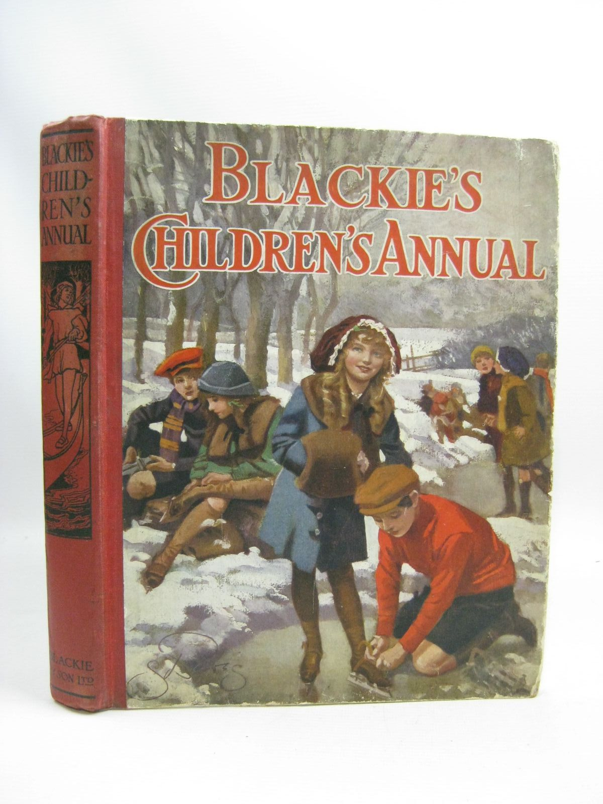 Photo of BLACKIE'S CHILDREN'S ANNUAL 10TH YEAR written by Wilson, Theodora Wilson Morris, Alice Talwin Pope, Jessie Byron, May et al,  illustrated by Browne, Gordon Stratton, Helen Brock, H.M. Harrison, Florence et al.,  published by Blackie & Son Ltd. (STOCK CODE: 1505764)  for sale by Stella & Rose's Books