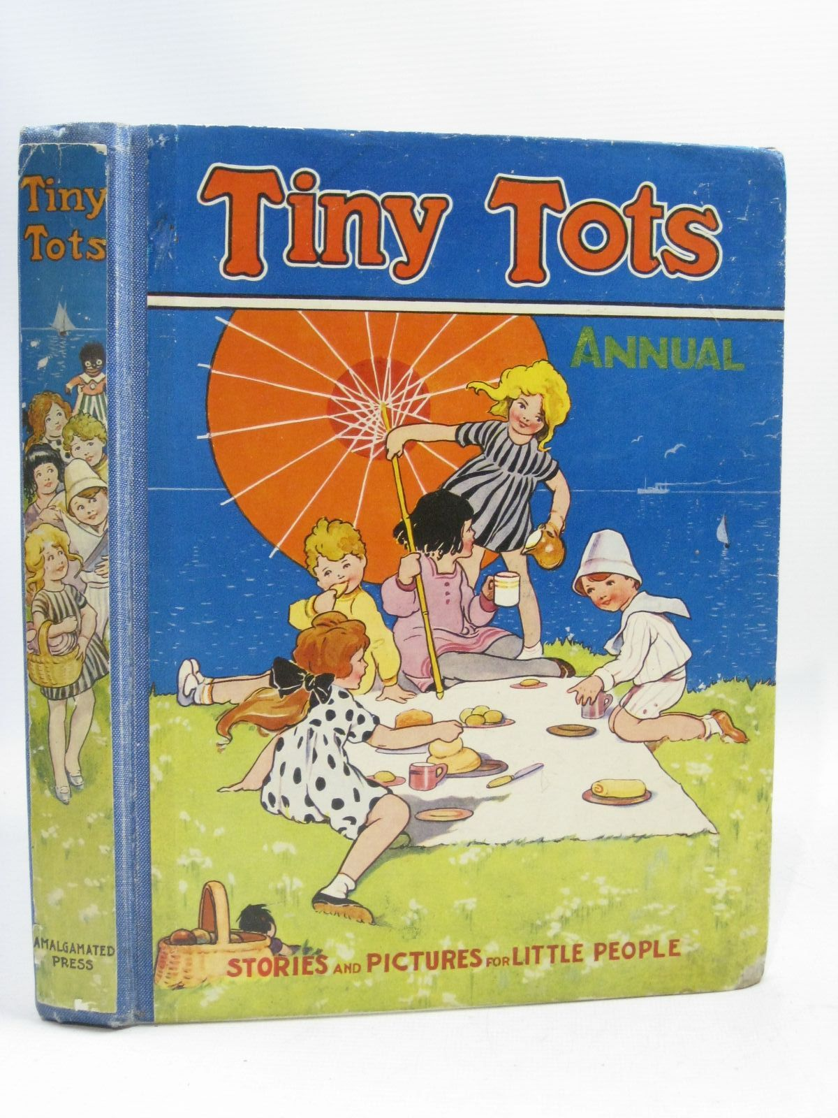 Photo of TINY TOTS ANNUAL 1940 written by Macnulty, Dorothy<br />Arthurton, Eileen<br />et al, illustrated by Robinson, Gordon<br />Brett, Molly<br />et al., published by The Amalgamated Press Limited (STOCK CODE: 1505778)  for sale by Stella & Rose's Books