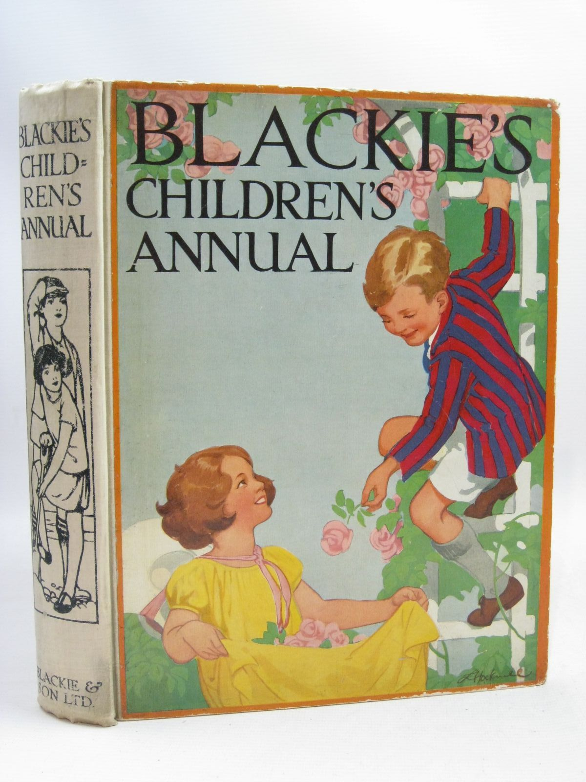 Photo of BLACKIE'S CHILDREN'S ANNUAL 24TH YEAR written by Barnes, Madeline