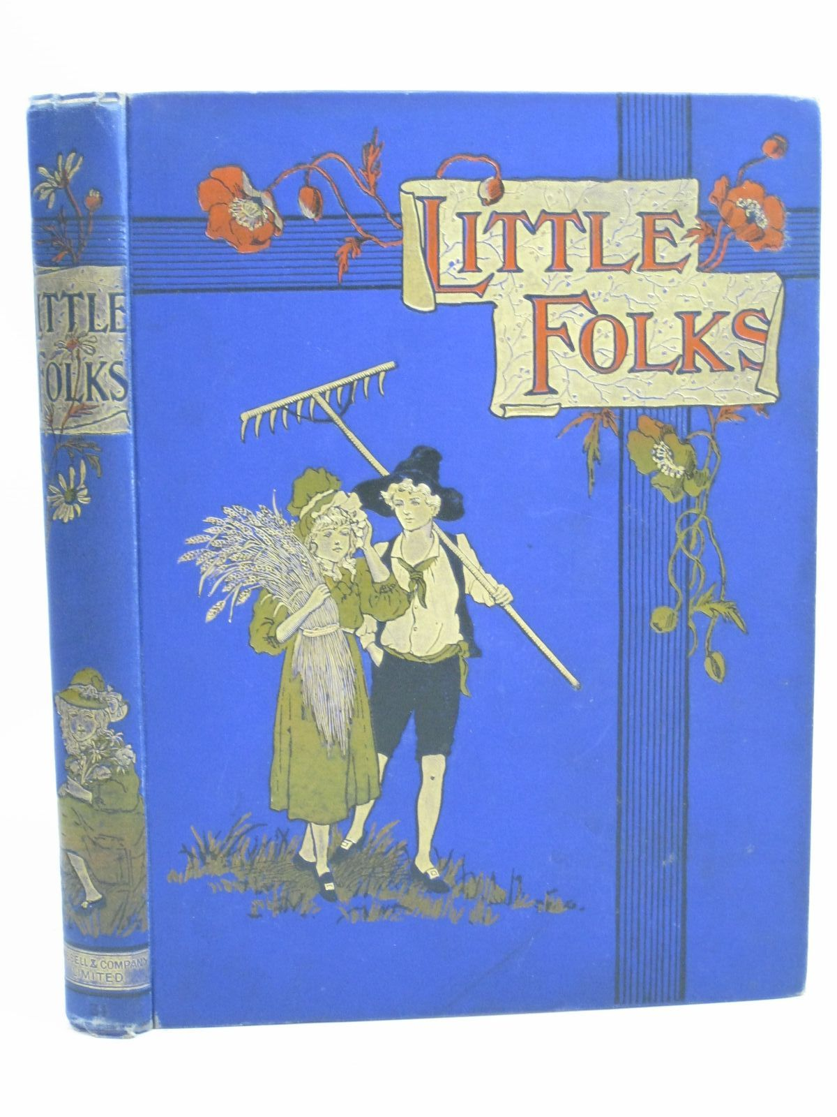 Photo of LITTLE FOLKS VOL 31 written by Russell, W. Clark et al, illustrated by Johnstone, H.J. Finnemore, J. et al., published by Cassell & Company Limited (STOCK CODE: 1505835)  for sale by Stella & Rose's Books