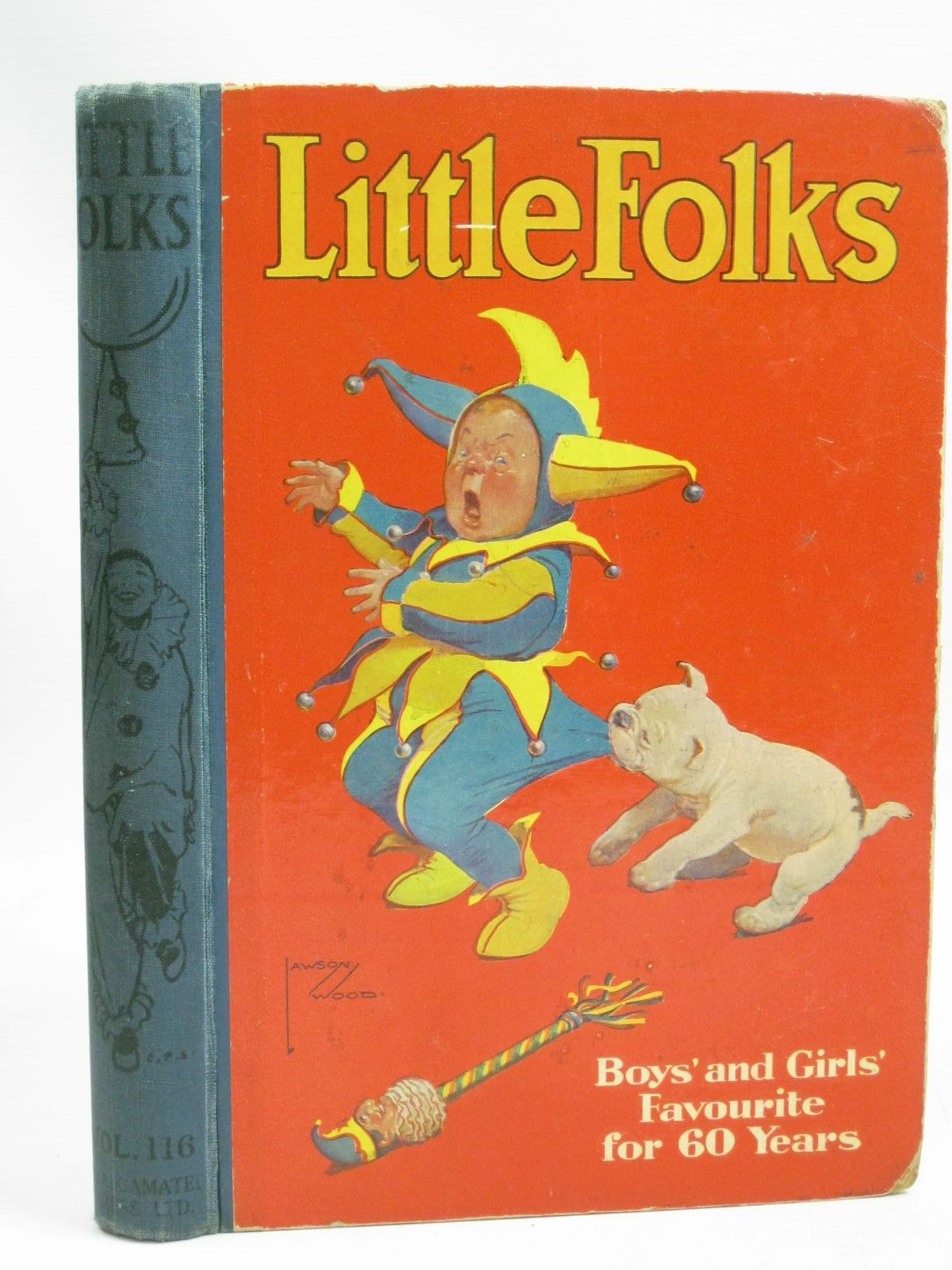 Photo of LITTLE FOLKS VOL 116 written by Pocock, Doris Judd, Alfred Marchant, Bessie et al,  illustrated by Aris, Ernest A. Rountree, Harry Newsome, D. Cuneo,  et al.,  published by The Amalgamated Press (STOCK CODE: 1505836)  for sale by Stella & Rose's Books
