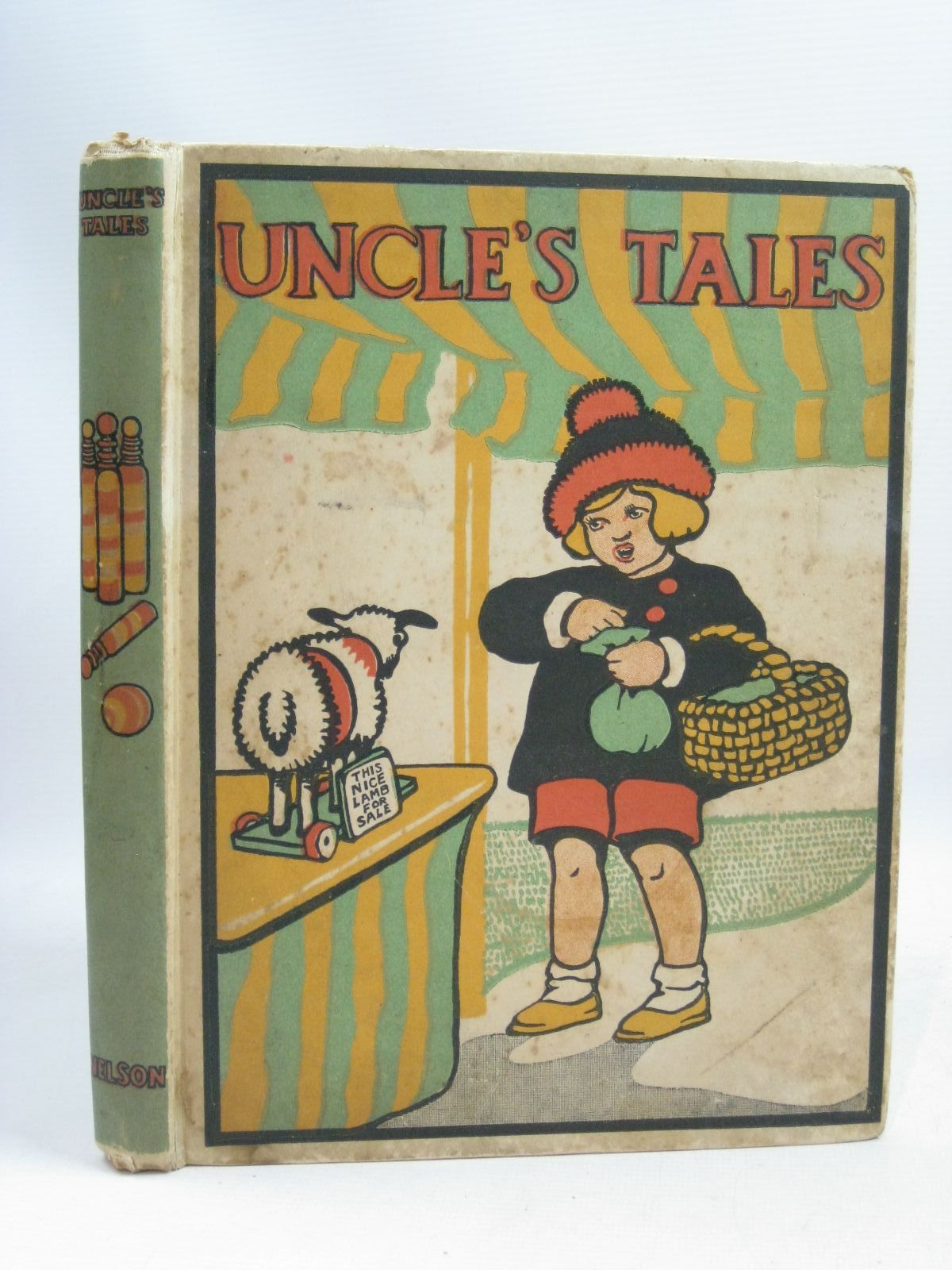 Photo of UNCLE'S TALES written by Megroz, Phyllis Hillyard, M.D. Hardy, Evelyn Methley, Violet M. Owsley, Sibyl B. Appleton, Honor C. et al, illustrated by Appleton, Honor C. Watson, A.H. Cobb, Ruth Anderson, Florence Mary et al., published by Thomas Nelson and Sons Ltd. (STOCK CODE: 1505847)  for sale by Stella & Rose's Books