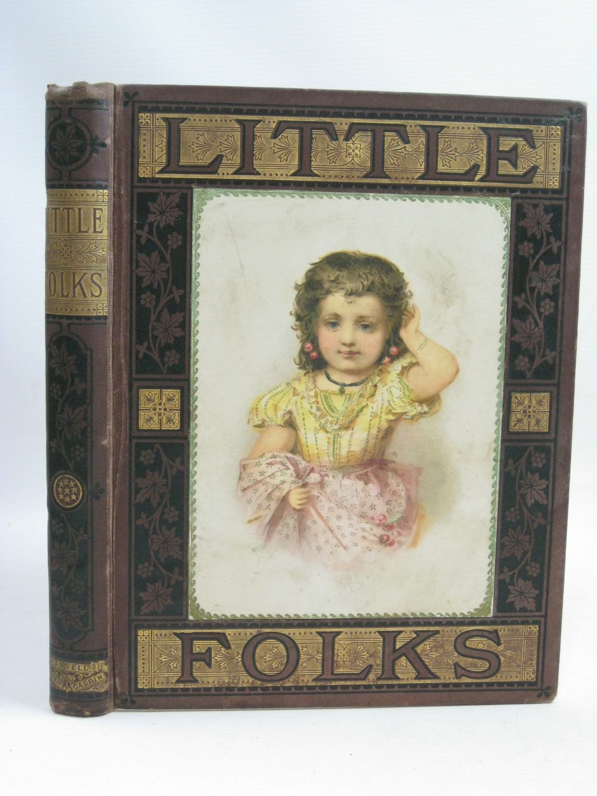 Photo of LITTLE FOLKS 1879 written by Kingston, W.H.G.<br />et al, published by Cassell Petter &amp; Galpin (STOCK CODE: 1505858)  for sale by Stella & Rose's Books