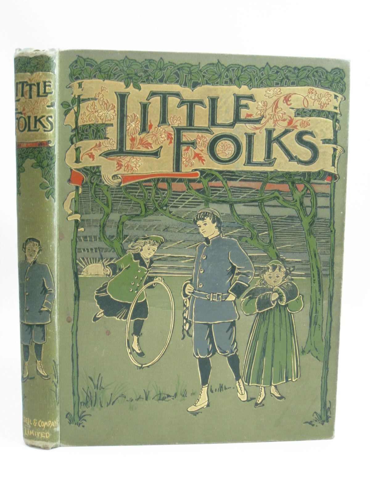 Photo of LITTLE FOLKS VOL 42 written by Ellis, Edward S. Holmes, F.M. Bennett, Charles H. et al, illustrated by Neilson, Harry B. Simmons, St. Clair Rainey, W. et al., published by Cassell & Company Limited (STOCK CODE: 1505859)  for sale by Stella & Rose's Books