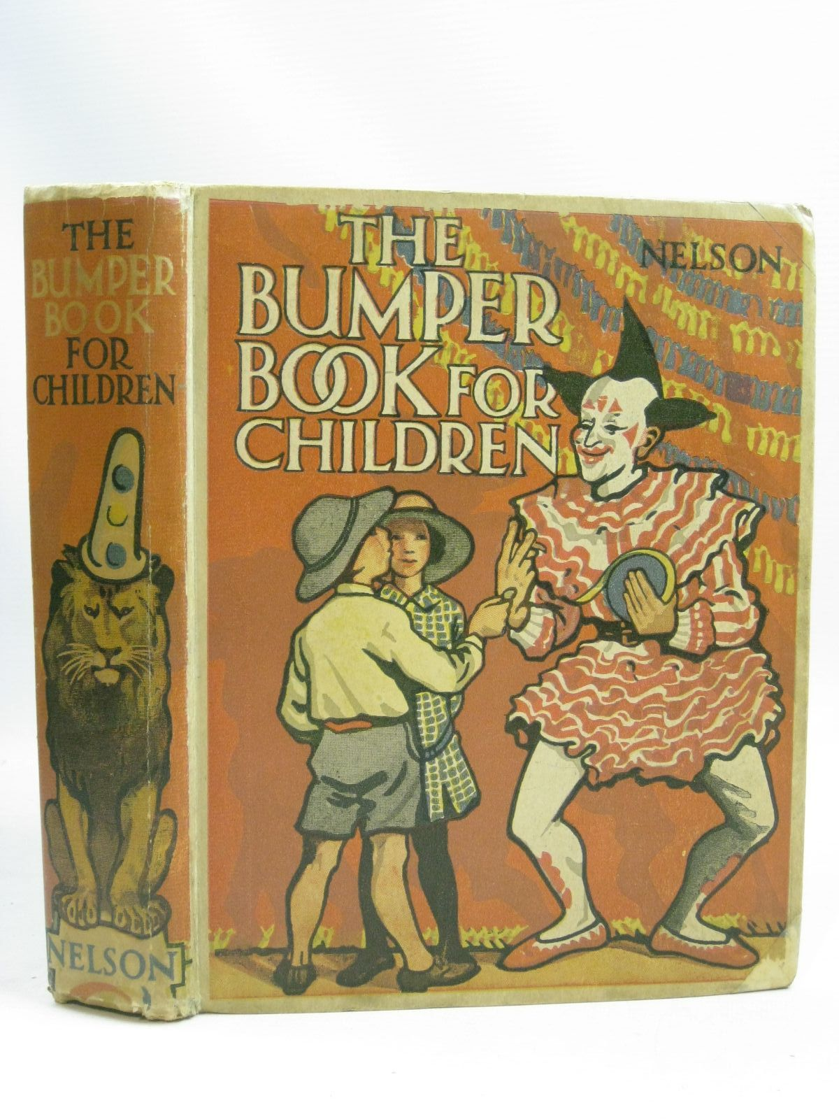 Photo of THE BUMPER BOOK FOR CHILDREN written by Smith, Dora Percy Royce, Marjory et al, illustrated by Cobb, Ruth Topham, Englefield, Cicely et al., published by Thomas Nelson and Sons Ltd. (STOCK CODE: 1505877)  for sale by Stella & Rose's Books