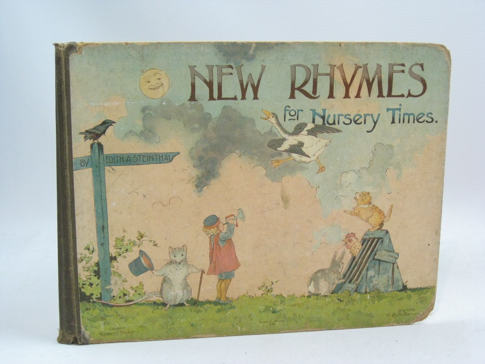 Photo of NEW RHYMES FOR NURSERY TIMES written by Steinthal, Edith A. published by E.P. Dutton & Co. (STOCK CODE: 1505879)  for sale by Stella & Rose's Books