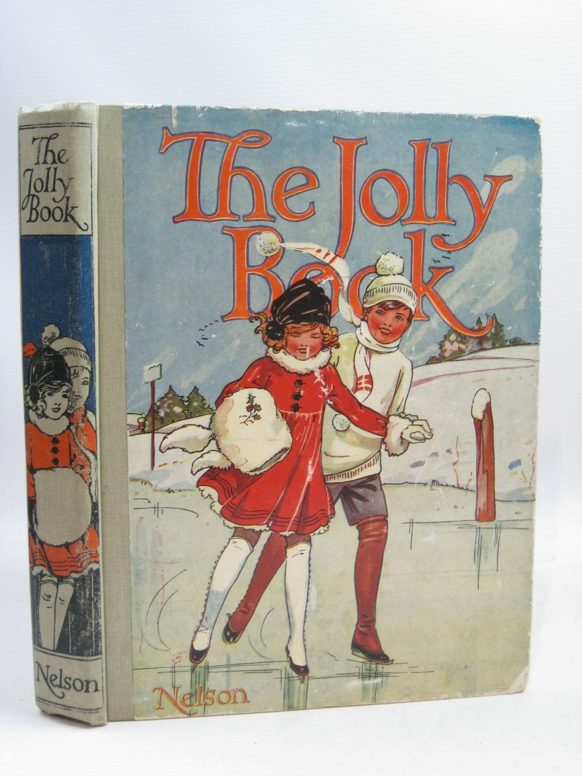 Photo of THE JOLLY BOOK - ELEVENTH YEAR written by Avery, Harold Brazil, Angela Talbot, Ethel et al, illustrated by Wood, Lawson Studdy, G.E. Earnshaw, Harold Anderson, Anne et al., published by Thomas Nelson & Sons (STOCK CODE: 1505914)  for sale by Stella & Rose's Books
