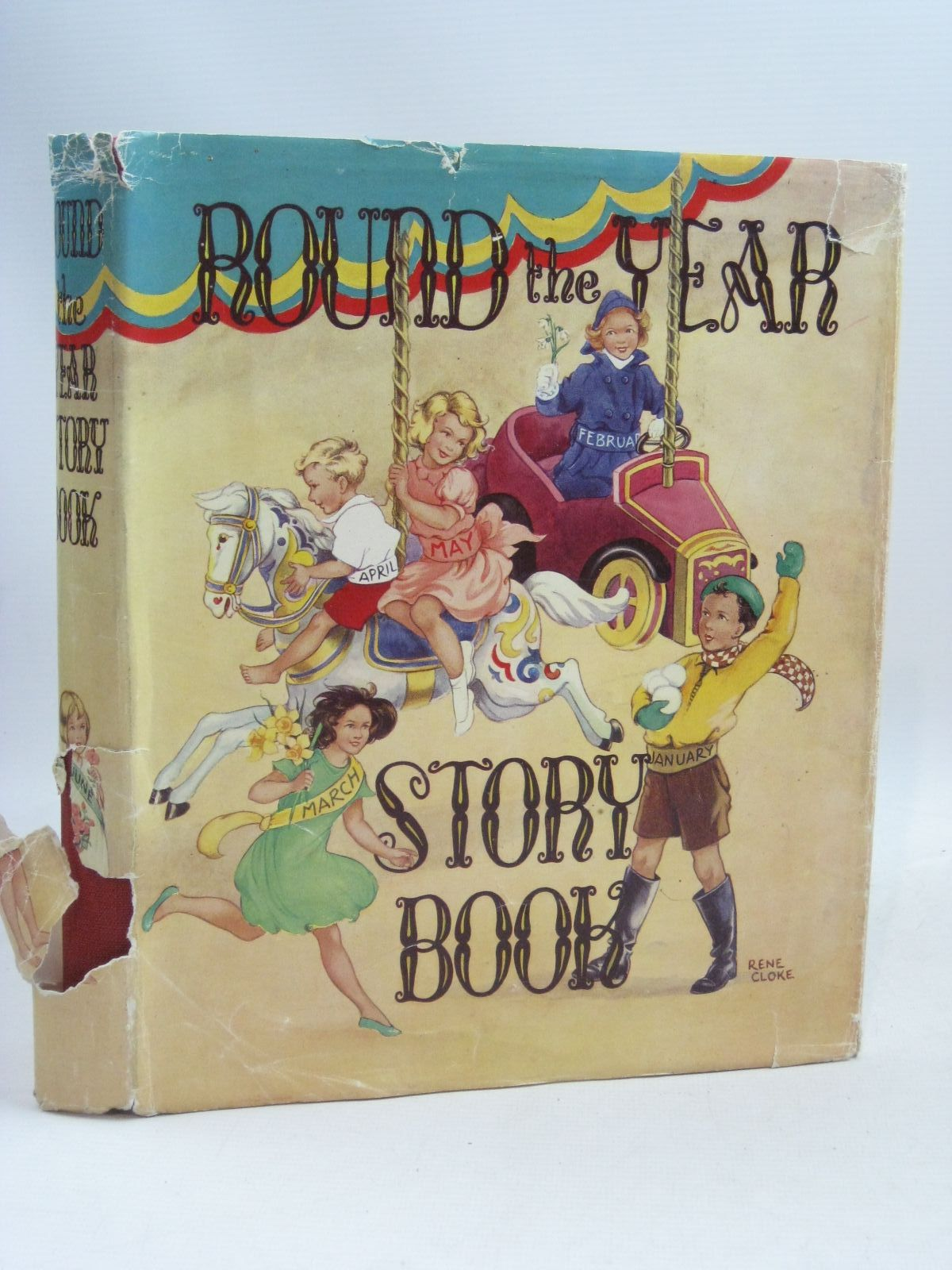 Photo of ROUND THE YEAR STORY BOOK written by Hyder, Alan Lawrence, Berta Batchelor, Vivien et al, illustrated by Cloke, Rene Roberts, Lunt Parker, Neave Soper, Eileen et al., published by P.R. Gawthorn Ltd. (STOCK CODE: 1505917)  for sale by Stella & Rose's Books
