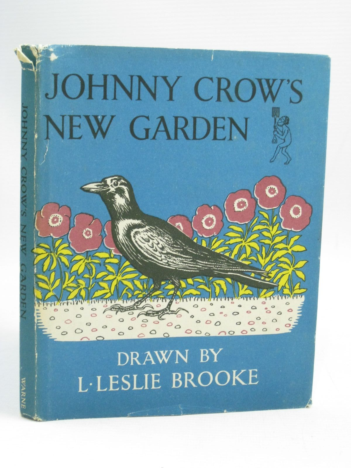 Photo of JOHNNY CROWS NEW GARDEN written by Brooke, L. Leslie illustrated by Brooke, L. Leslie published by Frederick Warne & Co Ltd. (STOCK CODE: 1505924)  for sale by Stella & Rose's Books
