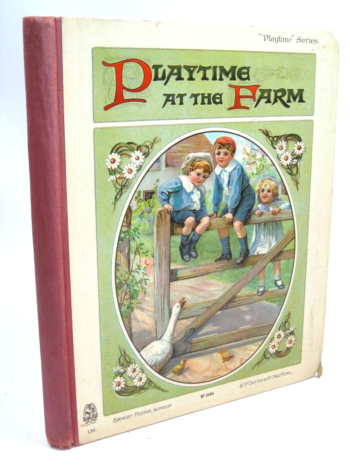 Photo of PLAYTIME AT THE FARM illustrated by Foster, W. Buchanan, N. et al., published by Ernest Nister, E.P. Dutton & Co. (STOCK CODE: 1505970)  for sale by Stella & Rose's Books