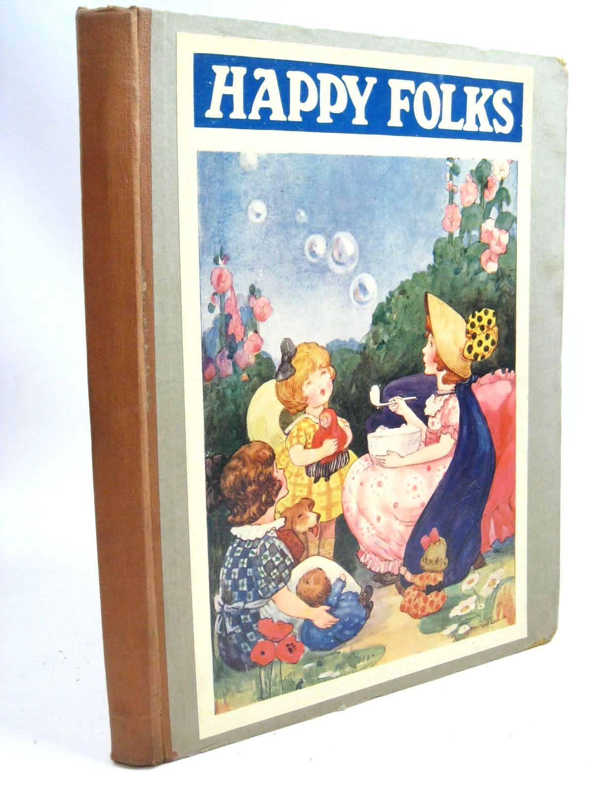 Photo of HAPPY FOLKS illustrated by Spurgin, Frederick McGregor, Gregor Gower, Beatrice Gell, M.M. et al., published by Art & Humour Publishing Co. Ltd. (STOCK CODE: 1505972)  for sale by Stella & Rose's Books