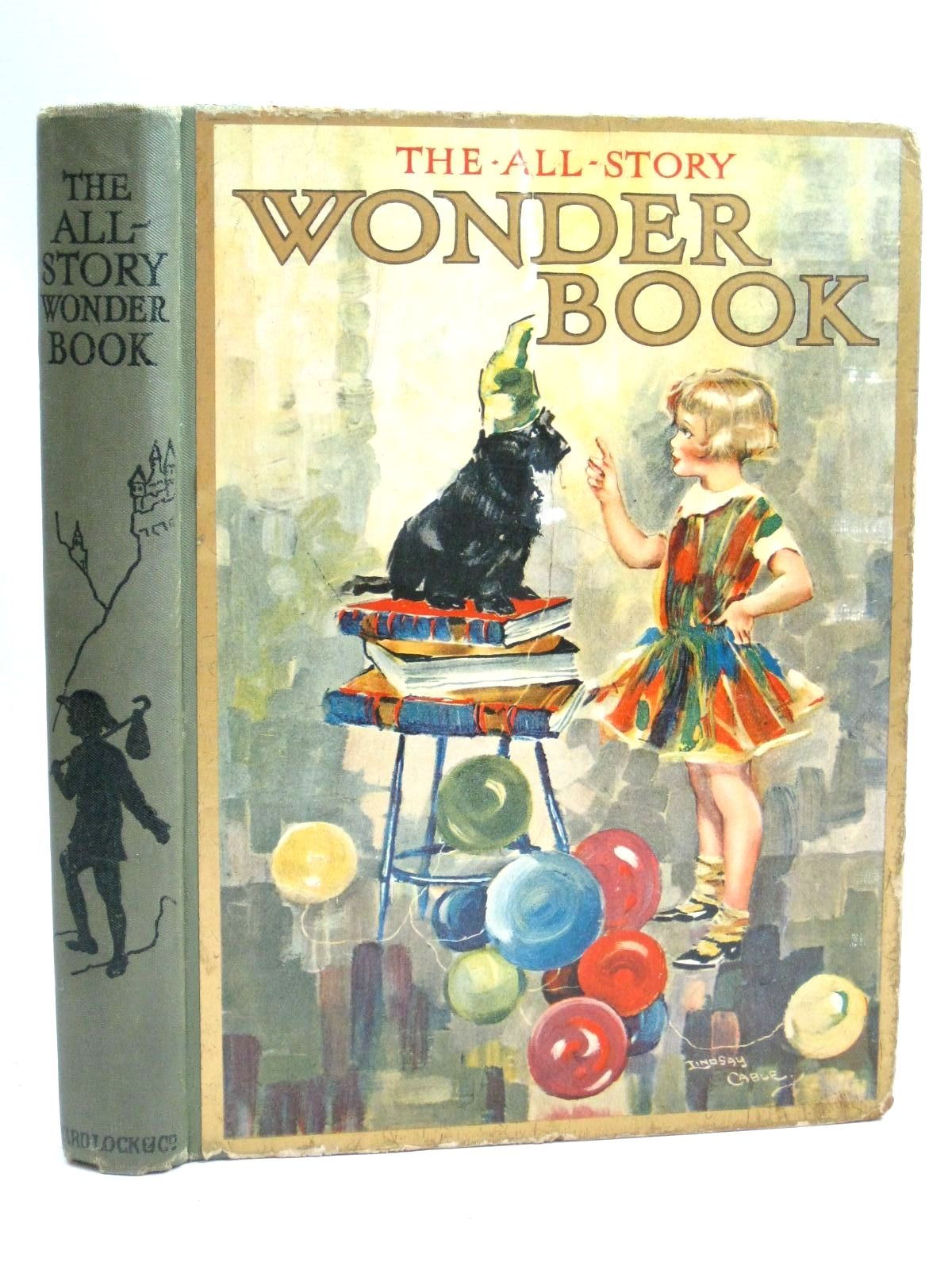 Photo of THE ALL-STORY WONDER BOOK 24TH YEAR written by Golding, Harry<br />Collier, Madeleine<br />Chaundler, Christine<br />Brisley, Nina K.<br />Talbot, Ethel<br />et al, illustrated by Cable, W. Lindsay<br />Tarrant, Percy<br />Theaker, Harry G.<br />Adams, Frank<br />Wright, Alan<br />et al., published by Ward, Lock &amp; Co. Limited (STOCK CODE: 1506003)  for sale by Stella & Rose's Books