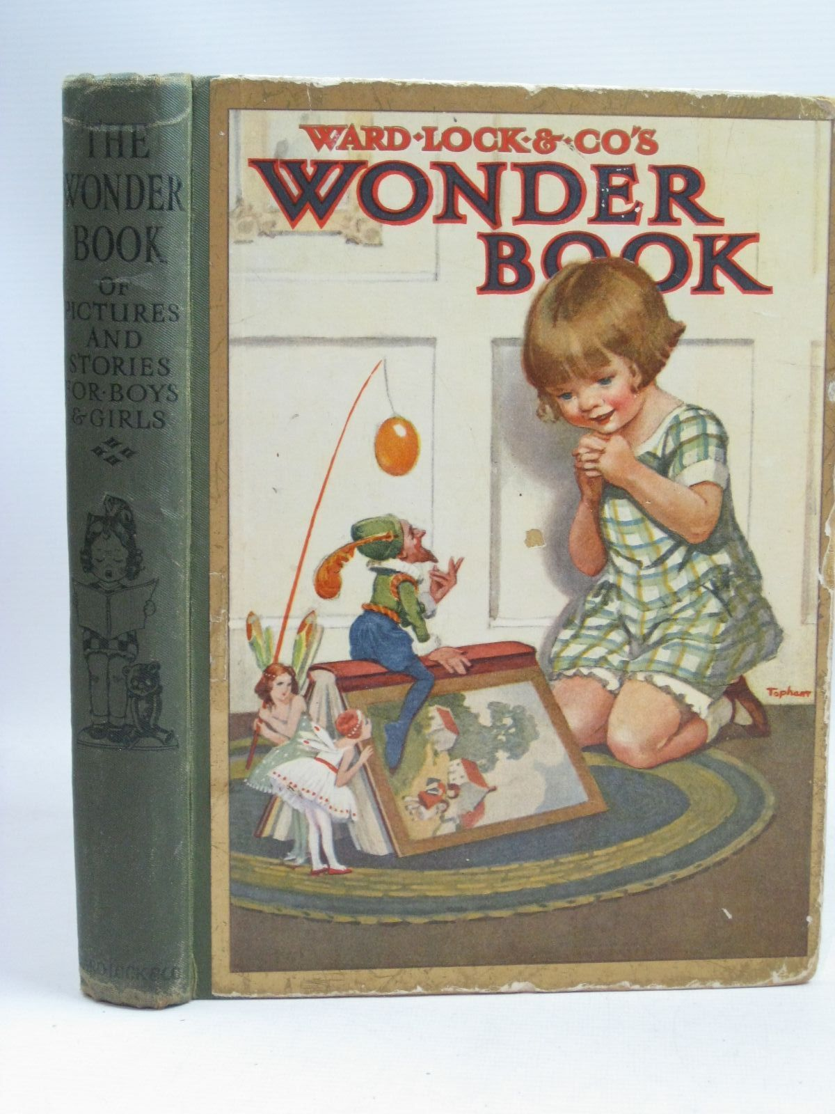 Photo of WONDER BOOK OF PICTURES AND STORIES FOR BOYS AND GIRLS written by Golding, Harry Rutley, Cecily M. Herbertson, Agnes Grozier Talbot, Ethel et al,  illustrated by Anderson, Anne Maybank, Thomas Topham, Inez Tarrant, Paul et al.,  published by Ward, Lock & Co. Ltd. (STOCK CODE: 1506012)  for sale by Stella & Rose's Books