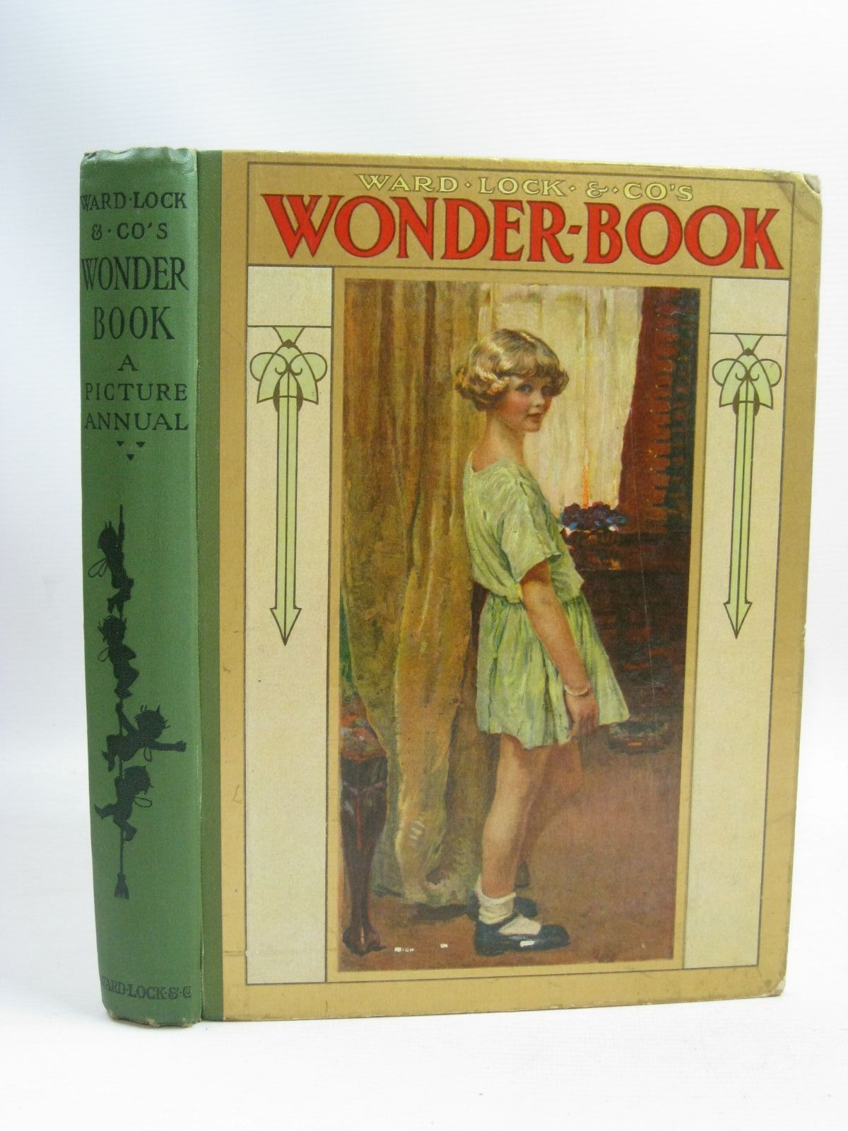 Photo of WARD LOCK &AMP; CO'S WONDER BOOK 1925 written by Golding, Harry<br />Joan, Natalie<br />Rutley, Cecily M.<br />Wynne, May<br />Chaundler, Christine<br />et al,  illustrated by Anderson, Anne<br />Brisley, Nina K.<br />Tarrant, Margaret<br />Aris, Ernest A.<br />et al.,  published by Ward Lock &amp; Co Ltd. (STOCK CODE: 1506035)  for sale by Stella & Rose's Books