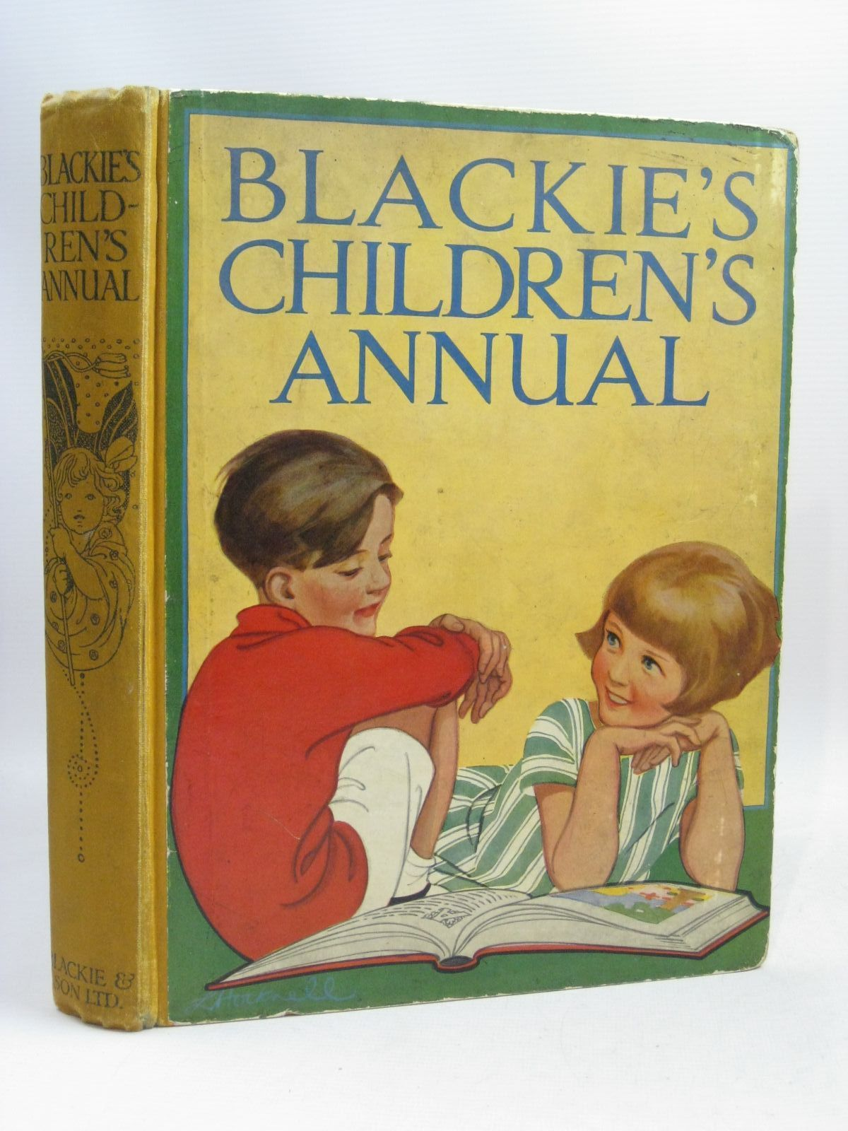 Photo of BLACKIE'S CHILDREN'S ANNUAL 23RD YEAR written by Barnes, Madeline Ogilvie, Will H. Pope, Jessie Smith, Evelyn et al, illustrated by Adams, Frank Reynolds, Warwick Rountree, Harry et al., published by Blackie & Son Ltd. (STOCK CODE: 1506036)  for sale by Stella & Rose's Books