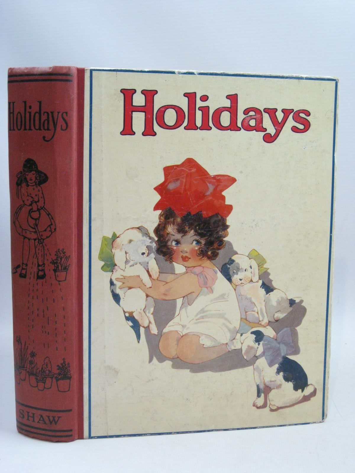 Photo of HOLIDAYS written by Herbert, Chas. illustrated by Browne, Jaques Kidman, Leigh Helmer, Levine Neilson, Harry B. et al., published by John F. Shaw & Co Ltd. (STOCK CODE: 1506065)  for sale by Stella & Rose's Books