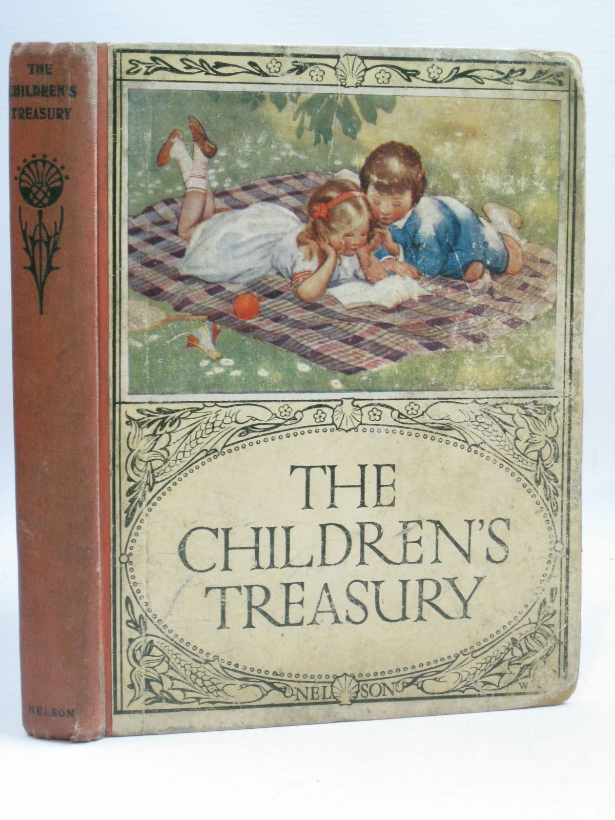 Photo of THE CHILDRENS TREASURY NO. XXII written by Talbot, Ethel Heward, Constance Quiller-Couch, Mabel et al, illustrated by Anderson, Anne et al., published by Thomas Nelson (STOCK CODE: 1506095)  for sale by Stella & Rose's Books