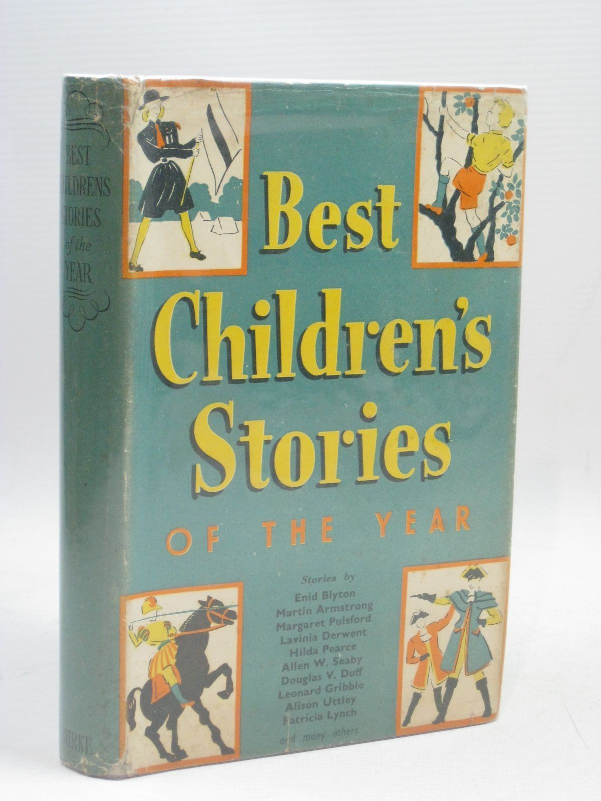 Photo of THE BEST CHILDREN'S STORIES OF THE YEAR written by Gribble, Leonard<br />Pearce, Hilda<br />Blyton, Enid<br />Uttley, Alison published by Burke Publishing Company Ltd. (STOCK CODE: 1506109)  for sale by Stella & Rose's Books