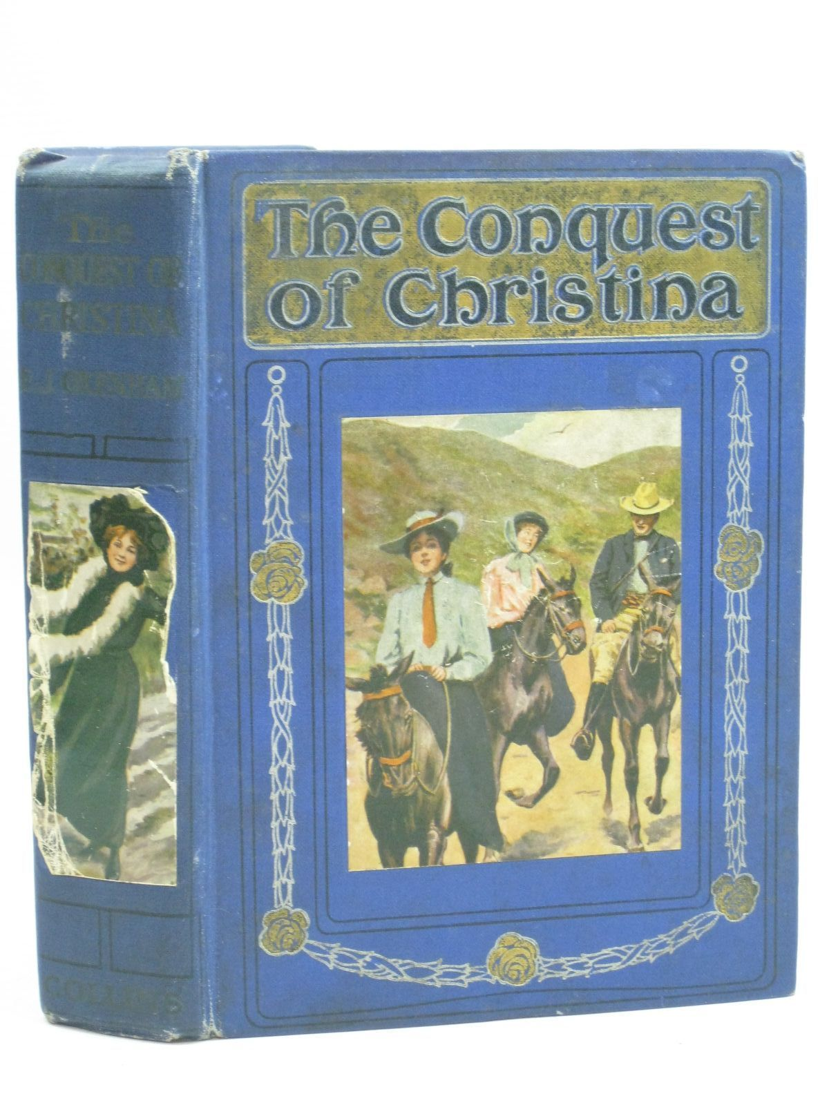Photo of THE CONQUEST OF CHRISTINA written by Oxenham, Elsie J. illustrated by Foyster, G.B. published by Collins Clear-Type Press (STOCK CODE: 1506110)  for sale by Stella & Rose's Books