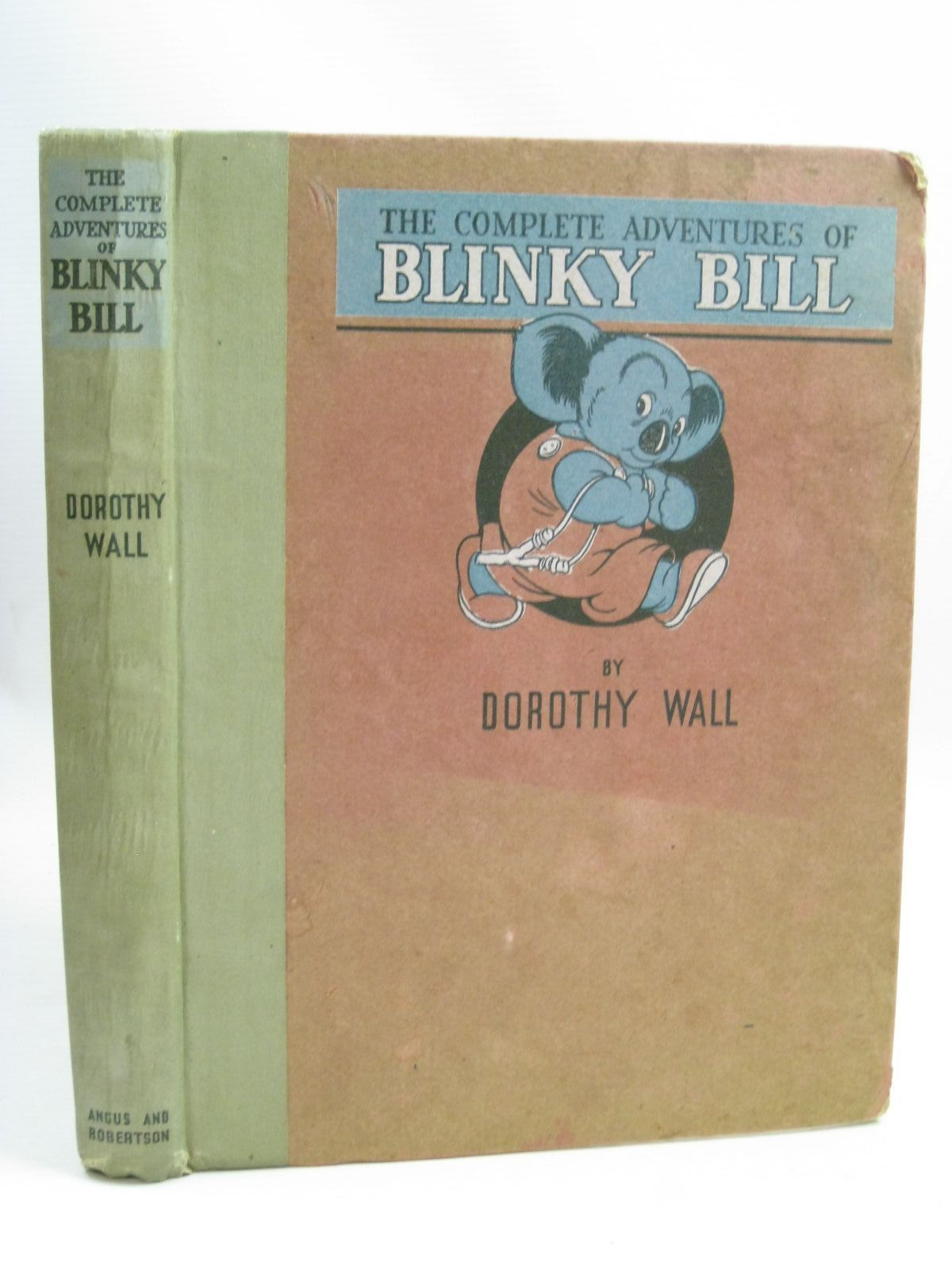 Photo of THE COMPLETE ADVENTURES OF BLINKY BILL written by Wall, Dorothy illustrated by Wall, Dorothy published by Angus & Robertson (STOCK CODE: 1506119)  for sale by Stella & Rose's Books